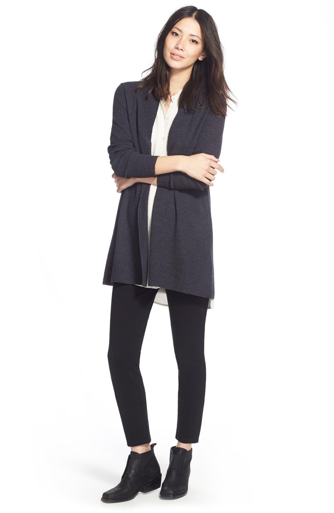 Alternate Image 9  - Eileen Fisher Slim Ponte Knit Pants (Regular & Petite)