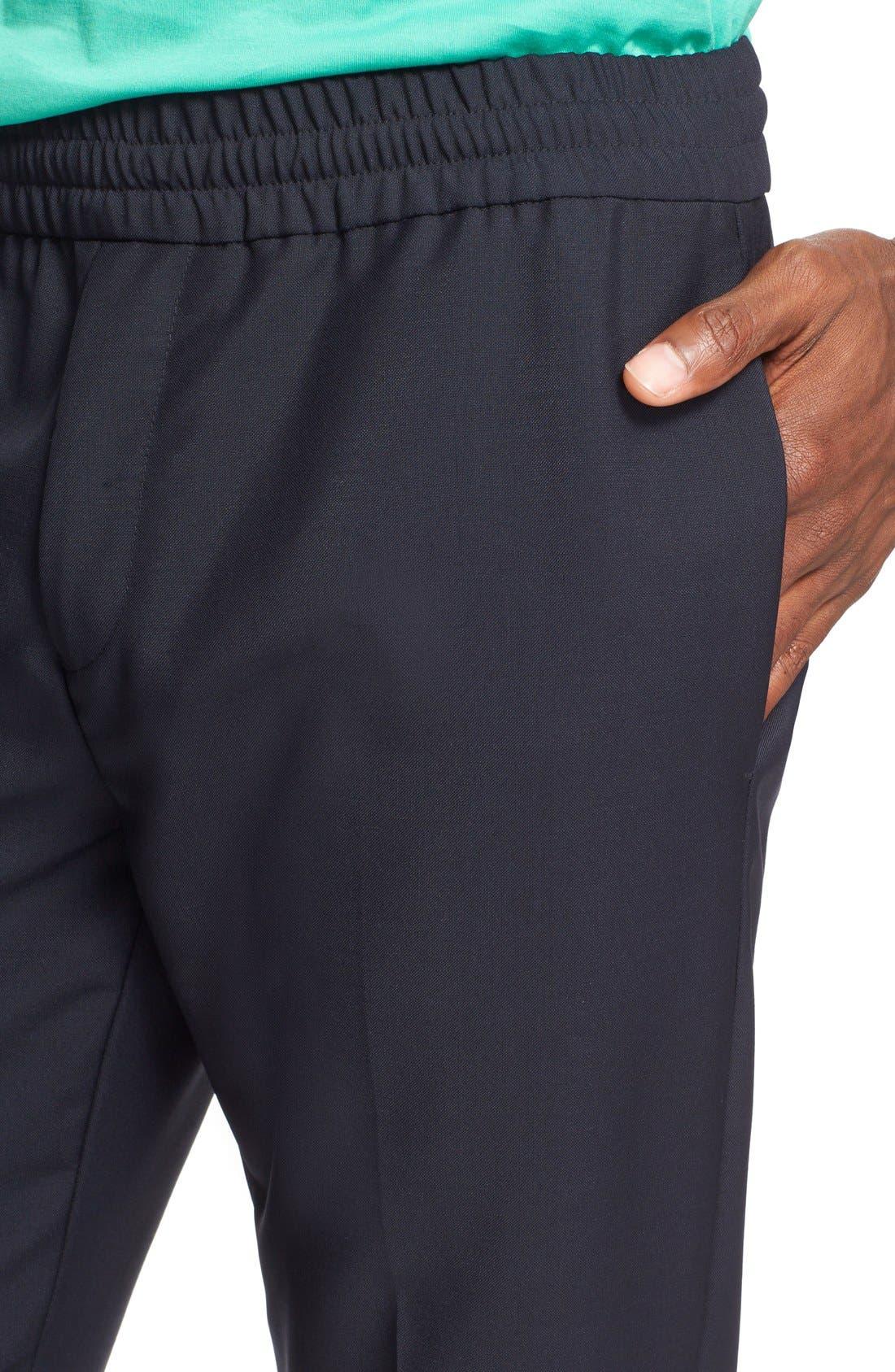 Ryder Wool Pants,                             Alternate thumbnail 4, color,                             Navy
