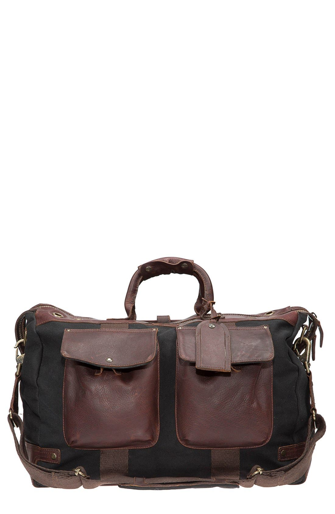 Alternate Image 5  - Will Leather Goods Traveler Duffel Bag
