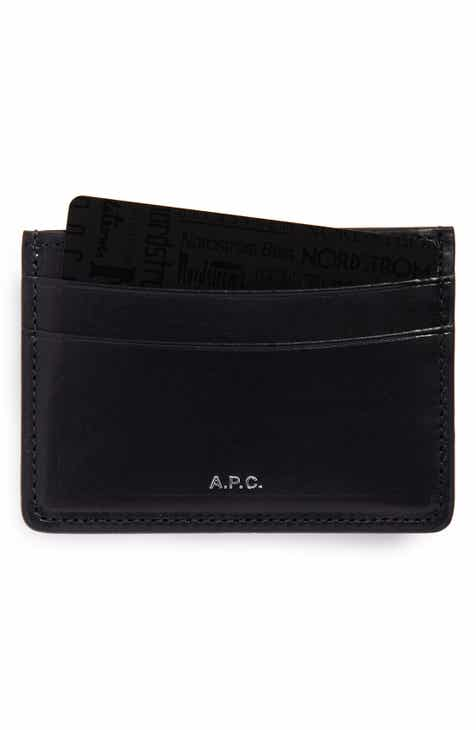 A.P.C. Leather Card Case