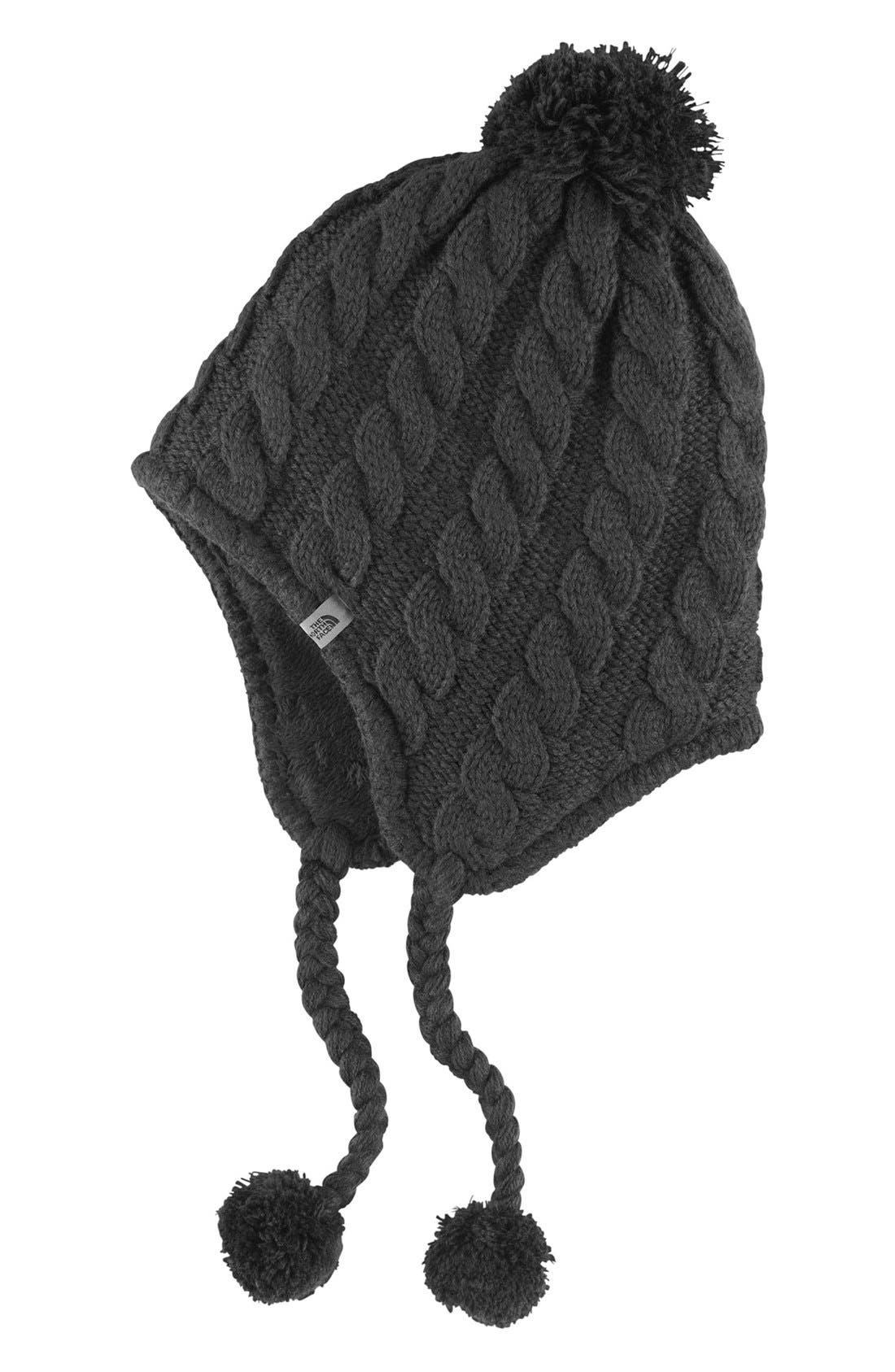 Main Image - The North Face Fuzzy Earflap Beanie
