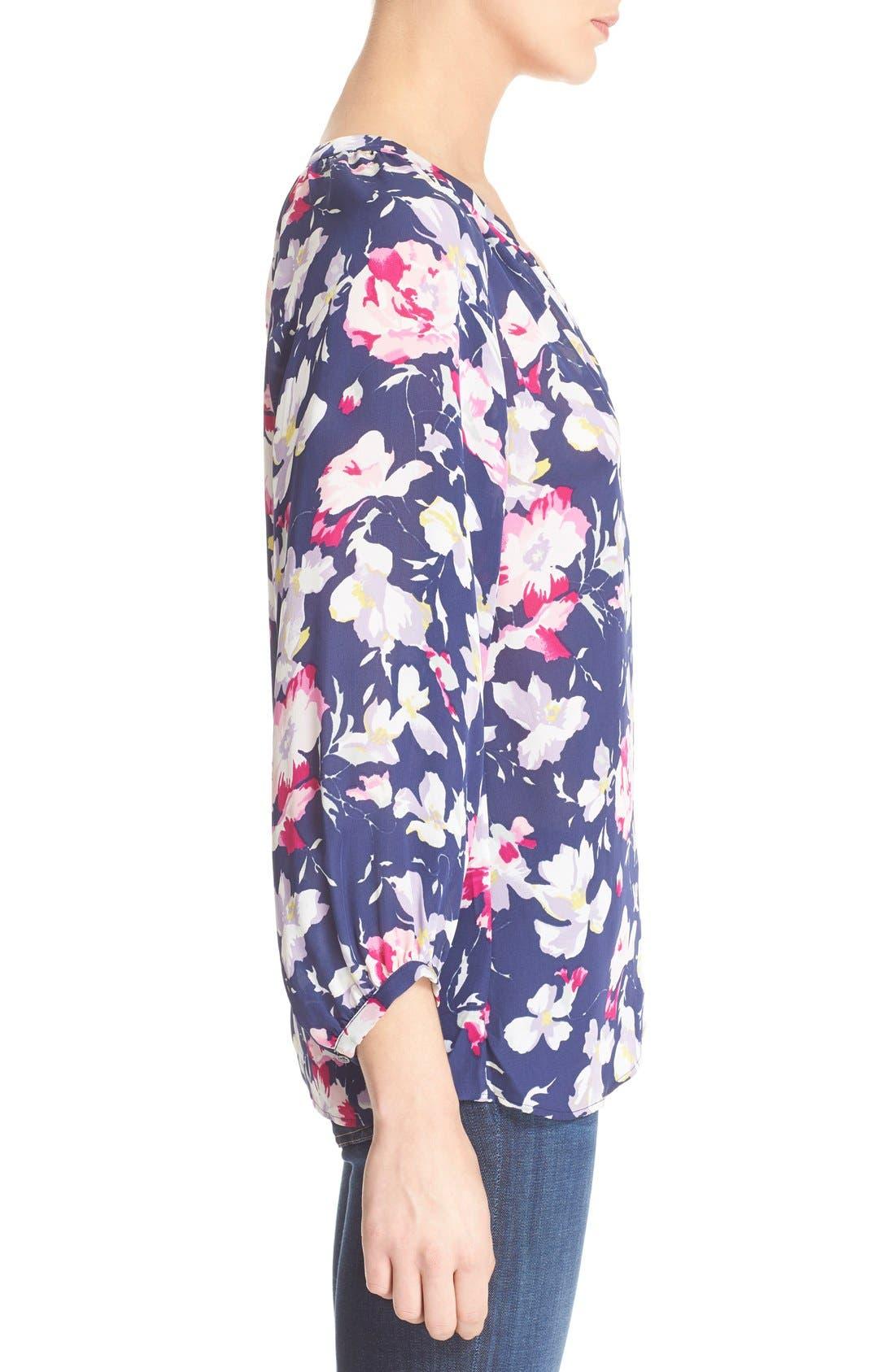 Alternate Image 3  - Joie 'McKenna' Floral Print Silk Blouse