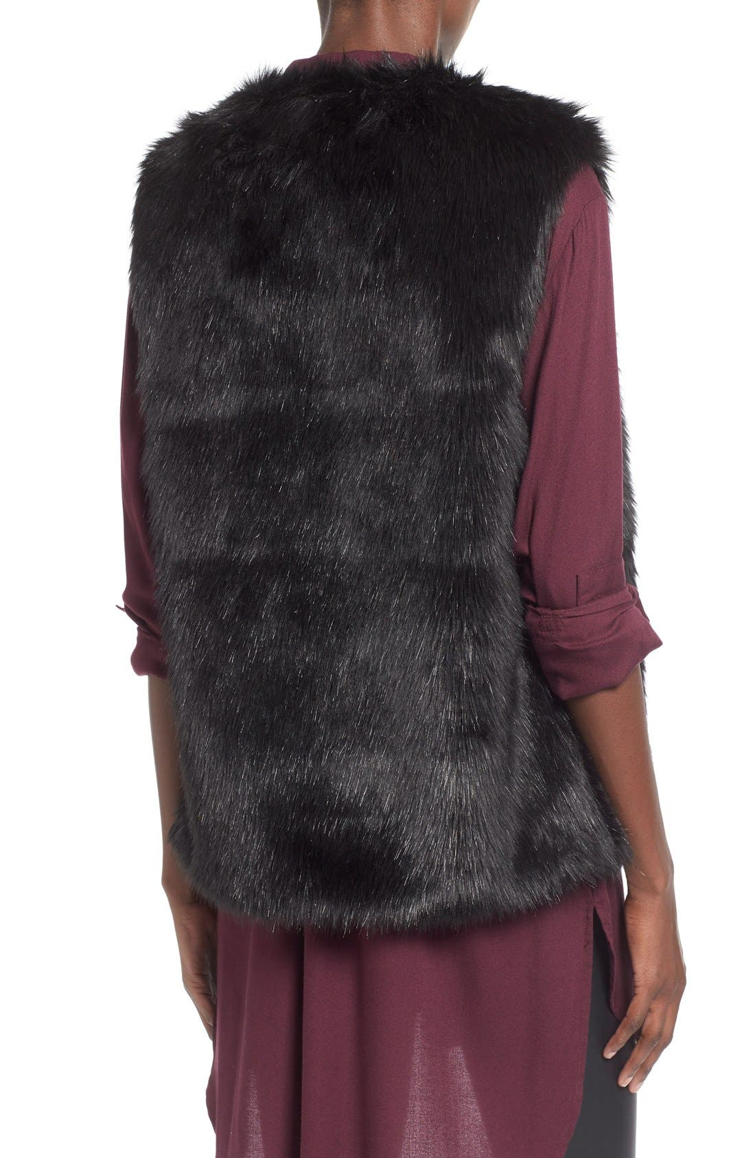 Alternate Image 2  - WAYF Faux Fur Vest