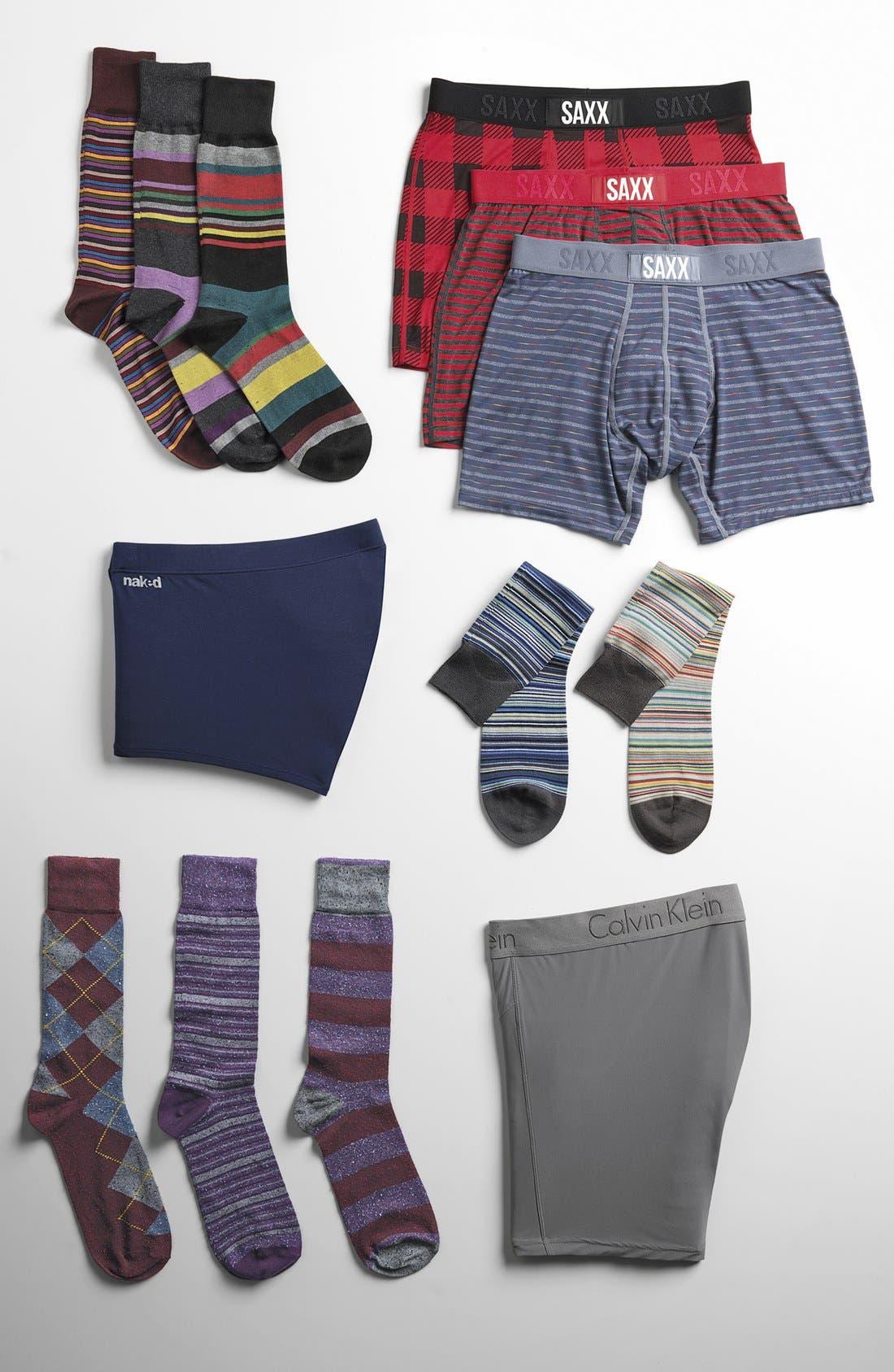 Alternate Image 3  - Paul Smith Multi Stripe Socks