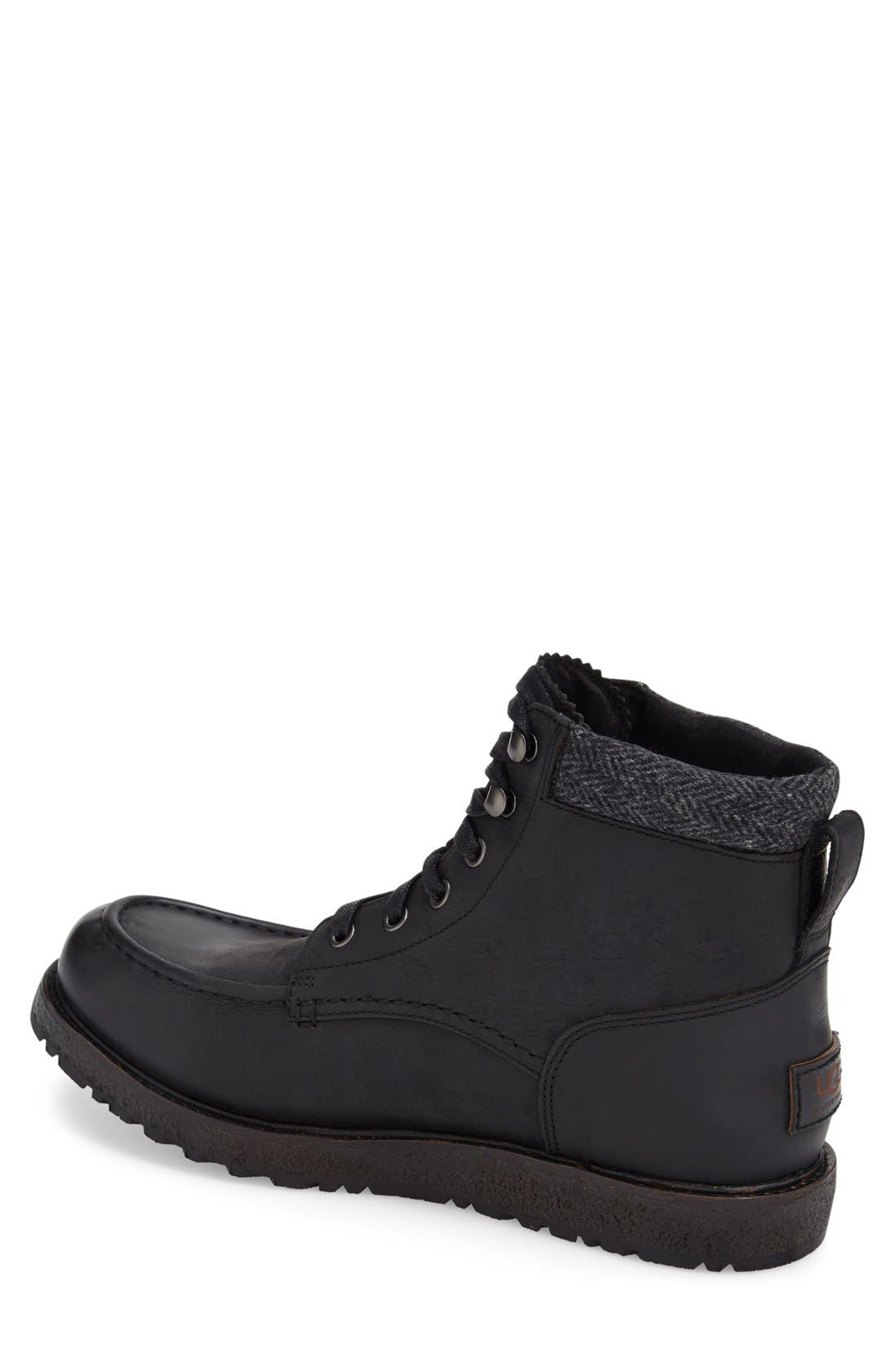 Alternate Image 2  - UGG® Merrick Moc Toe Boot (Men)