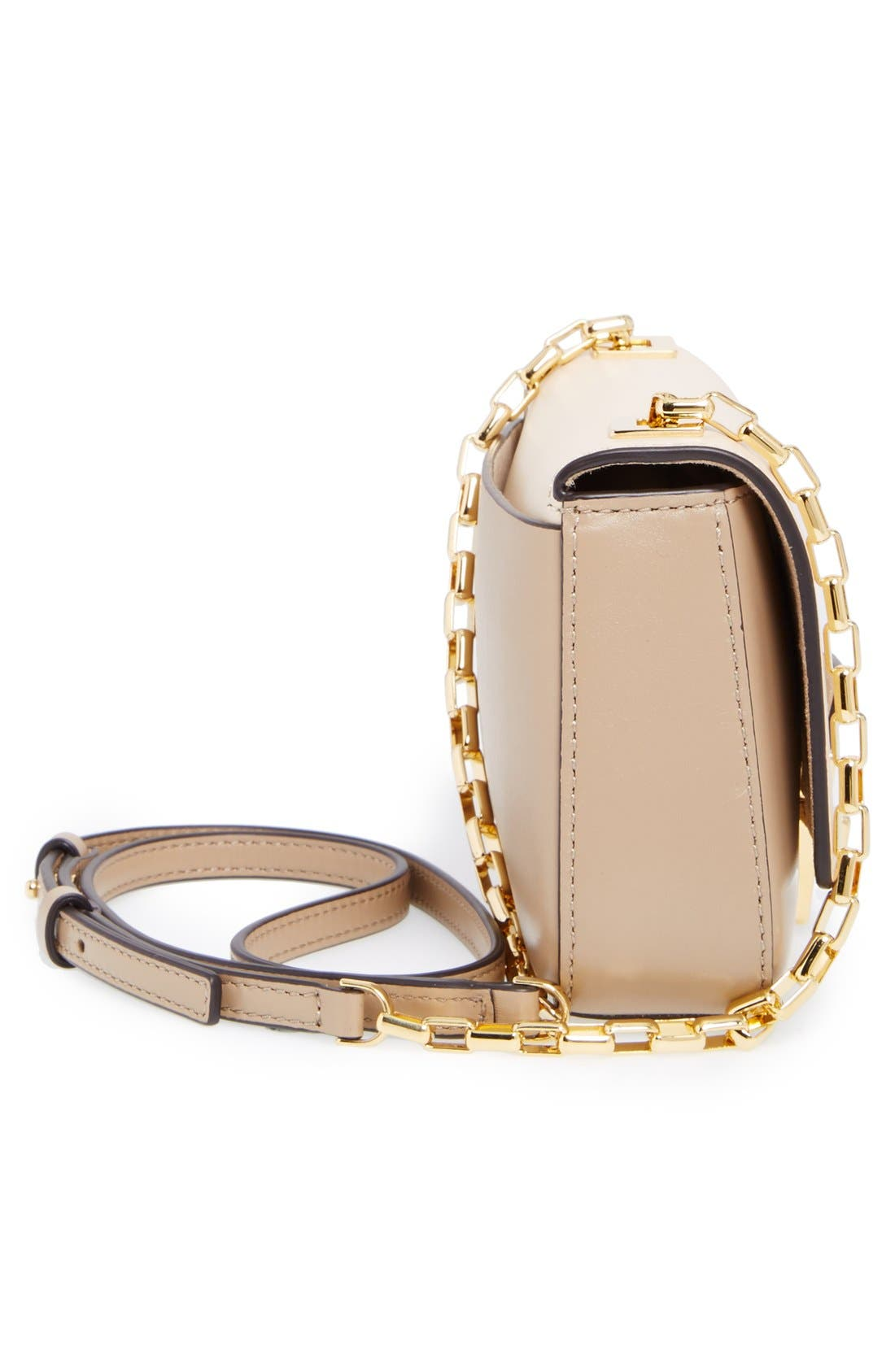 Alternate Image 5  - Michael Kors 'Small Gia' Chain Strap Leather Shoulder Bag