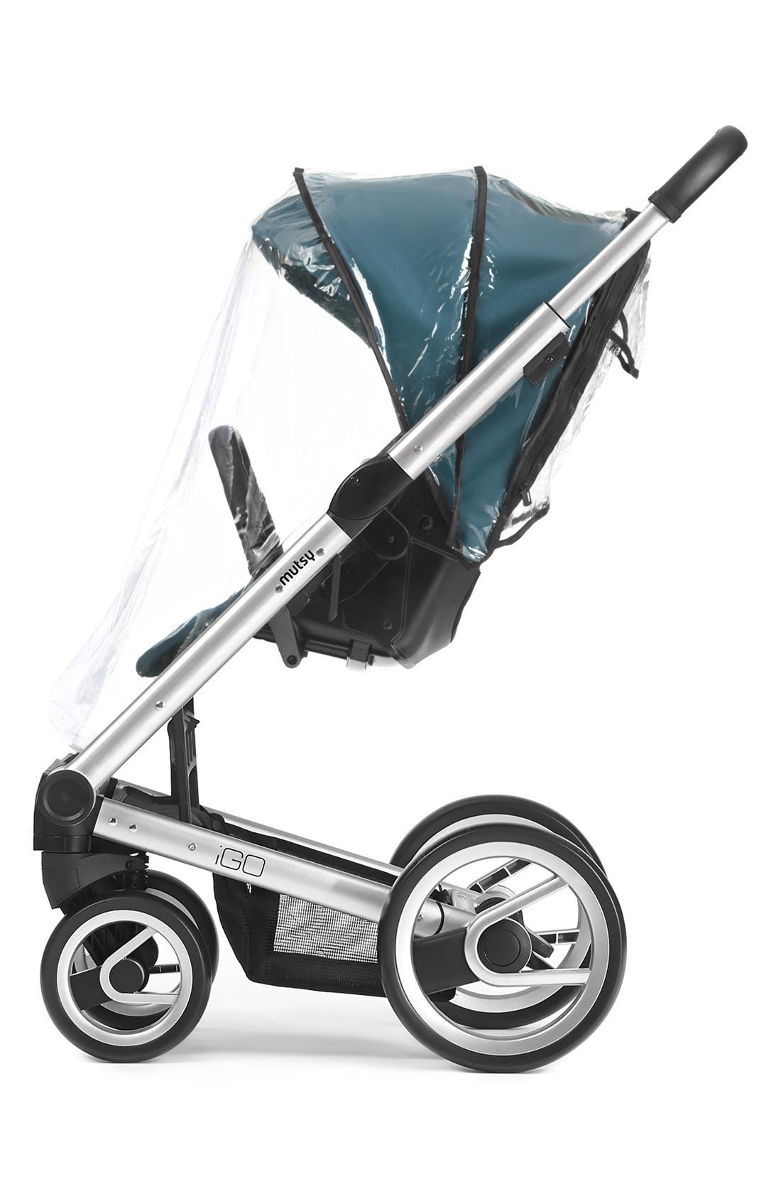 'Igo' Stroller Seat Rain Cover,                             Main thumbnail 1, color,                             Transparent