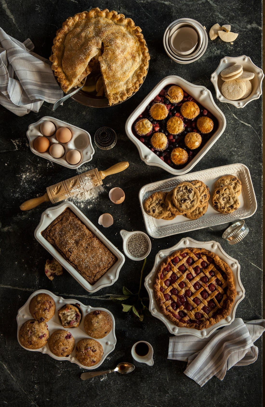 Alternate Image 2  - Juliska'Berry and Thread' Ceramic Loaf Pan