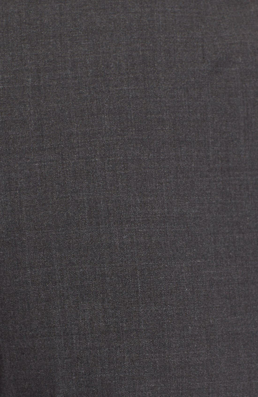 Alternate Image 5  - BOSS Tulea Bootcut Stretch Wool Suit Trousers (Regular & Petite)
