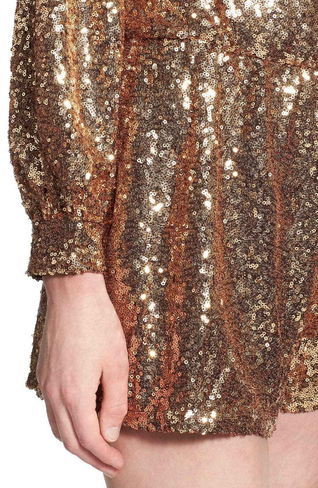 Alternate Image 4  - 4SI3NNA Sequin Romper
