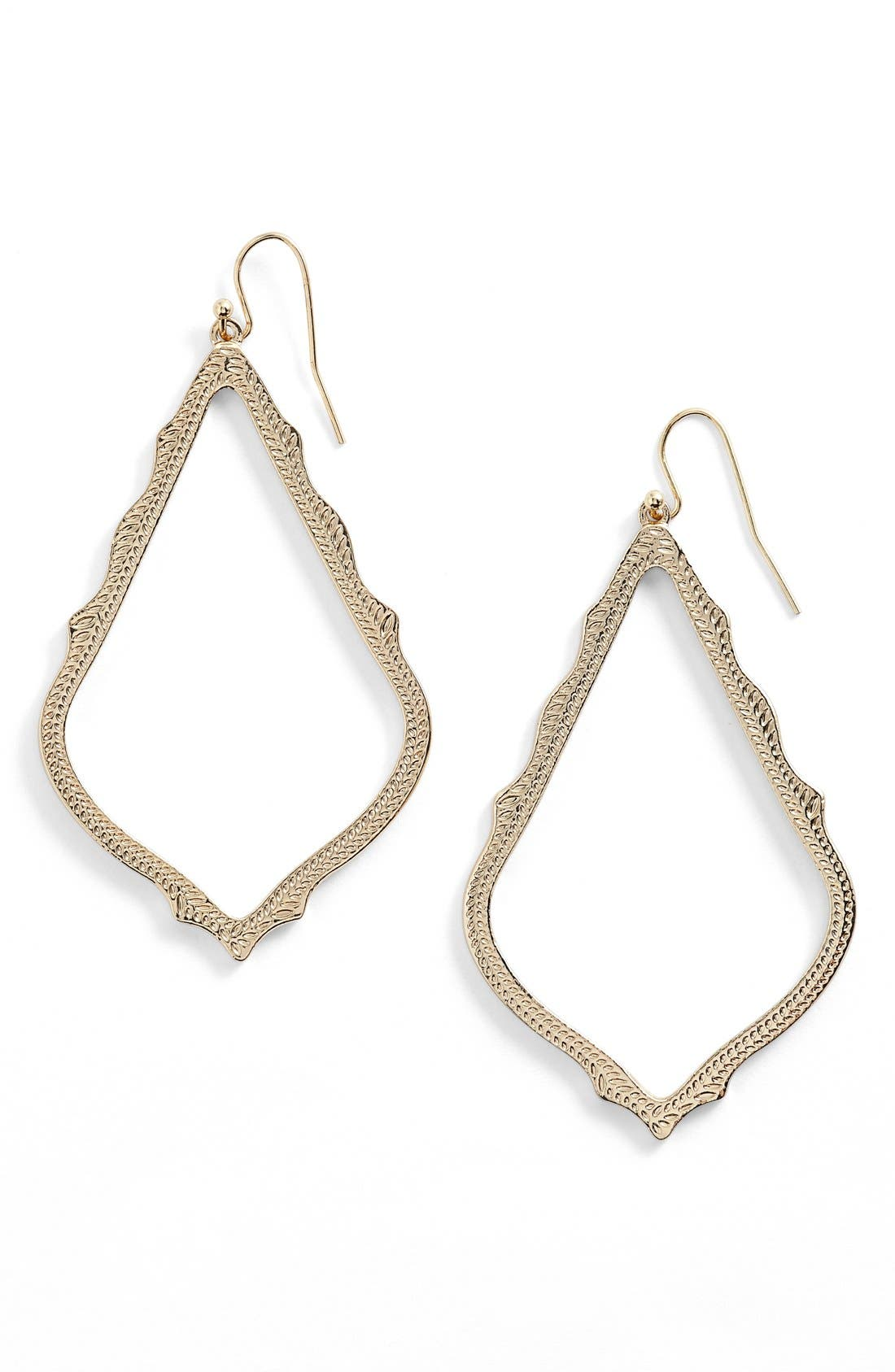 KENDRA SCOTT Sophee Textured Drop Earrings