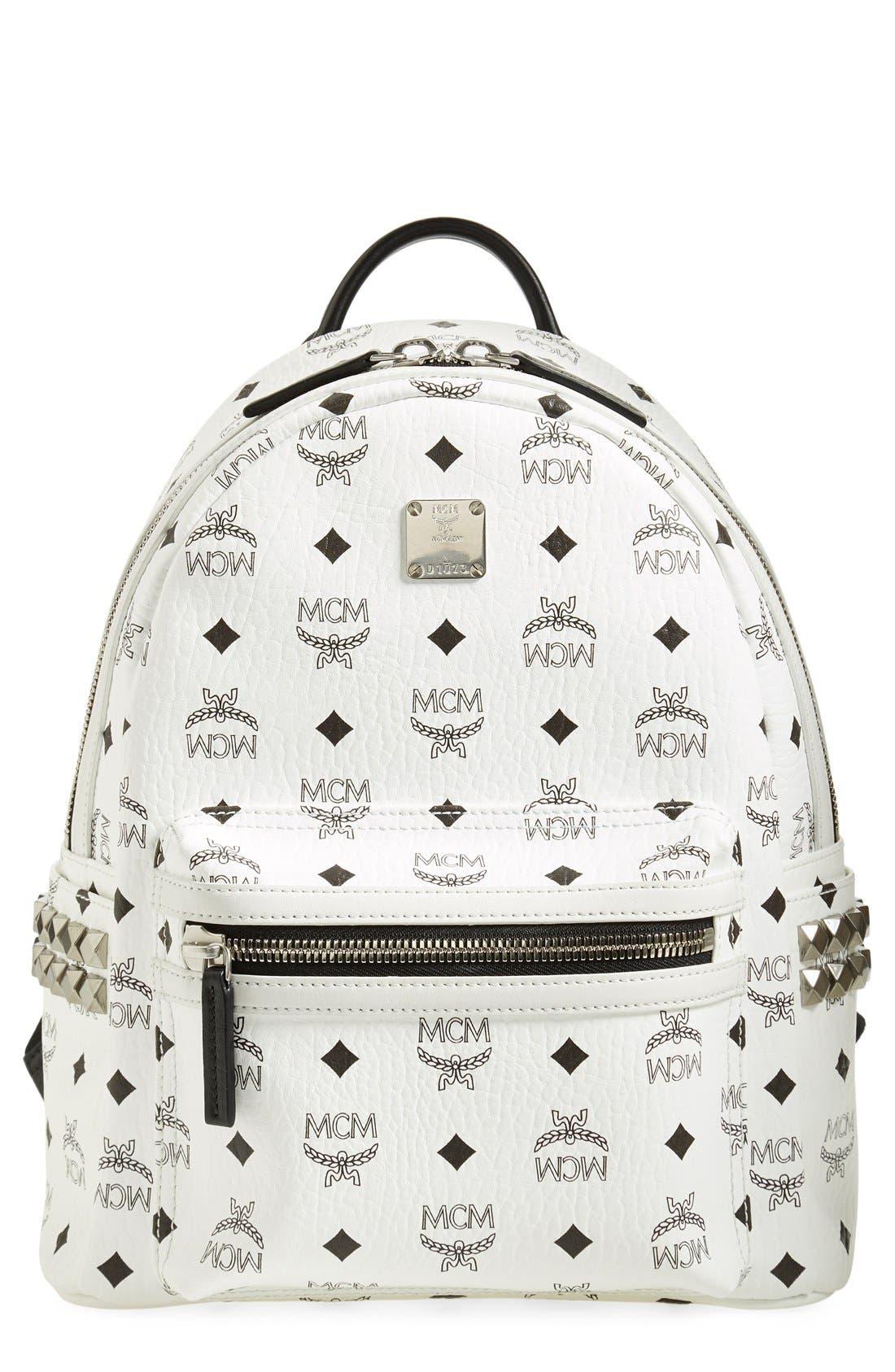 Main Image - MCM Small Stark Side Stud Backpack