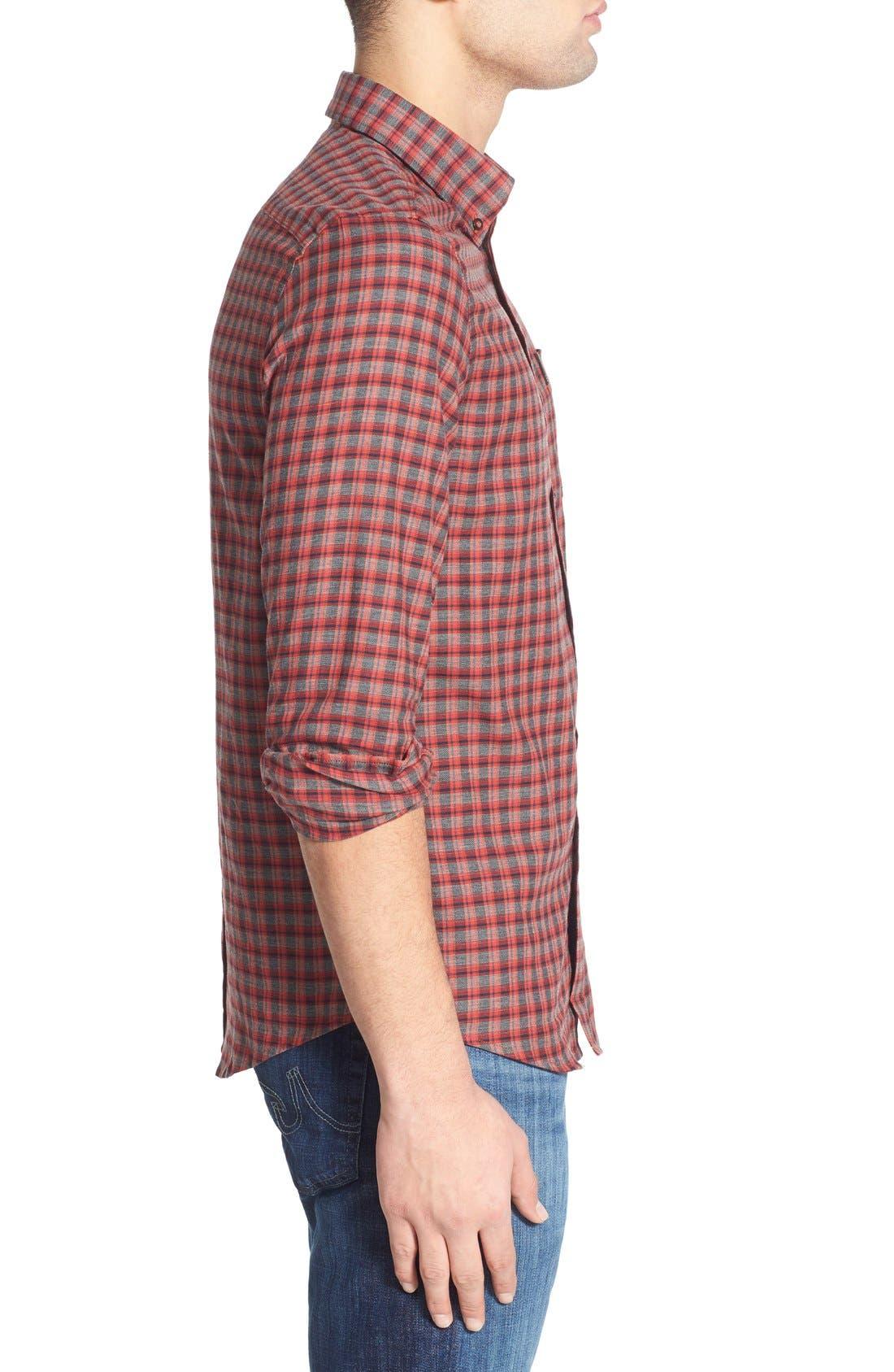 Alternate Image 3  - Ben Sherman Mod Fit Tartan Plaid Sport Shirt