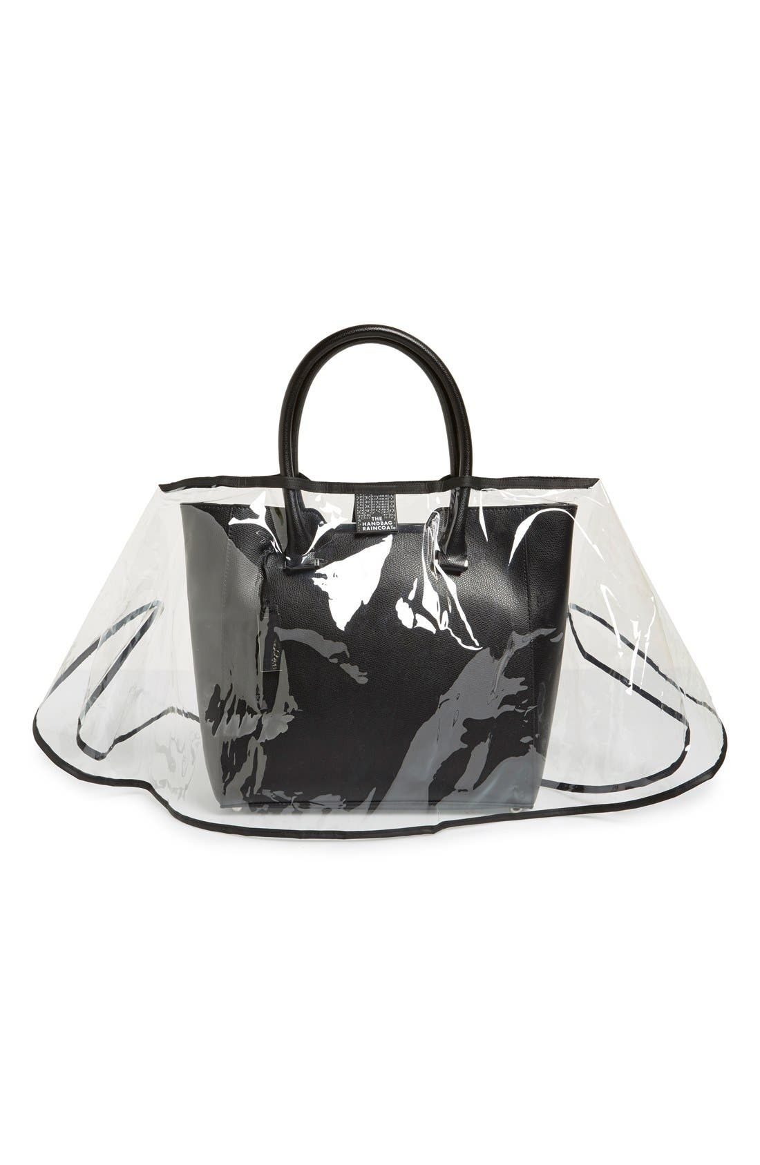'Midi - City Slicker' Handbag Protector,                             Main thumbnail 1, color,                             Clear