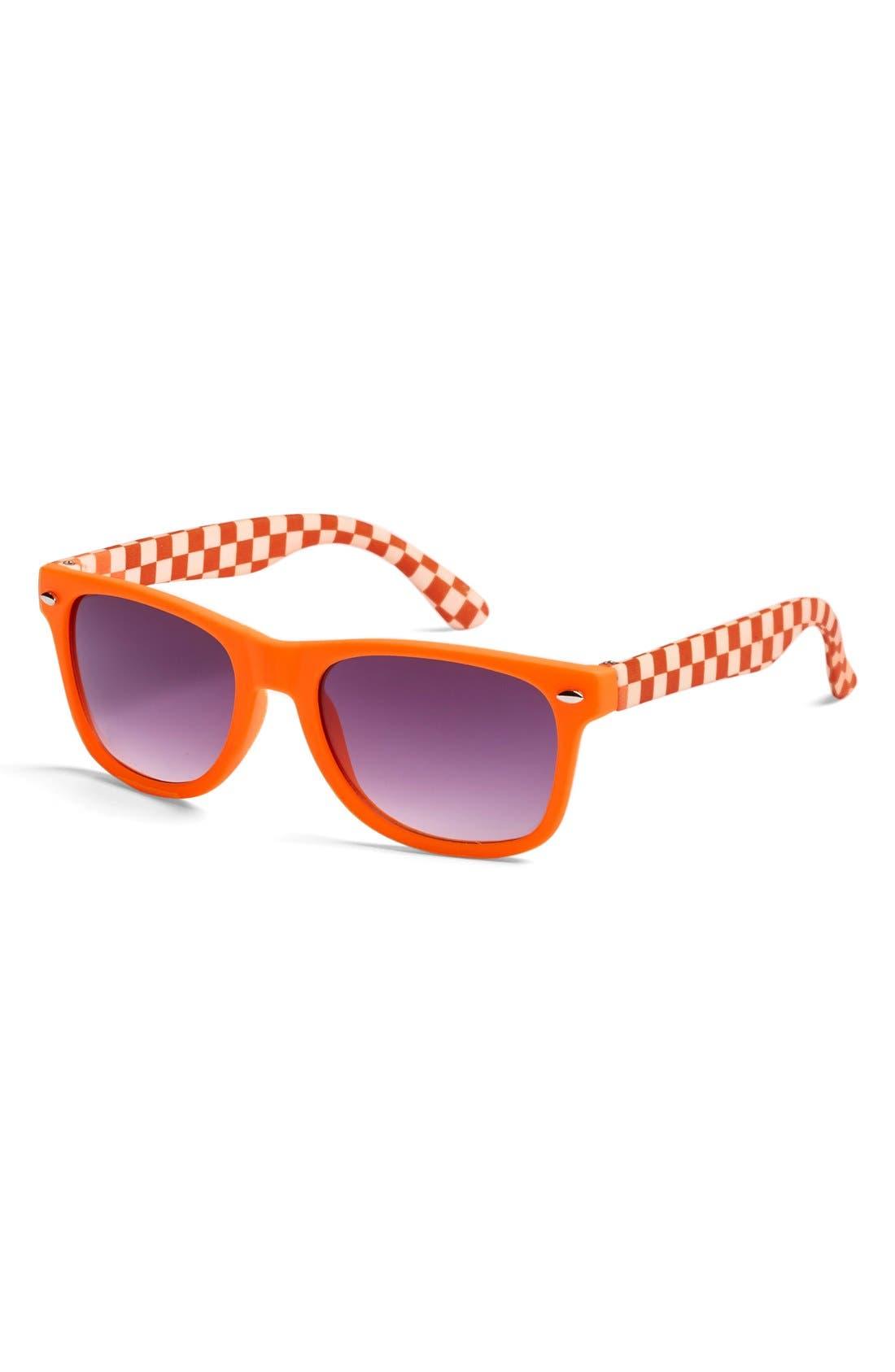 Alternate Image 1 Selected - Loose Leaf Eyewear Retro Sunglasses (Toddler Boys)