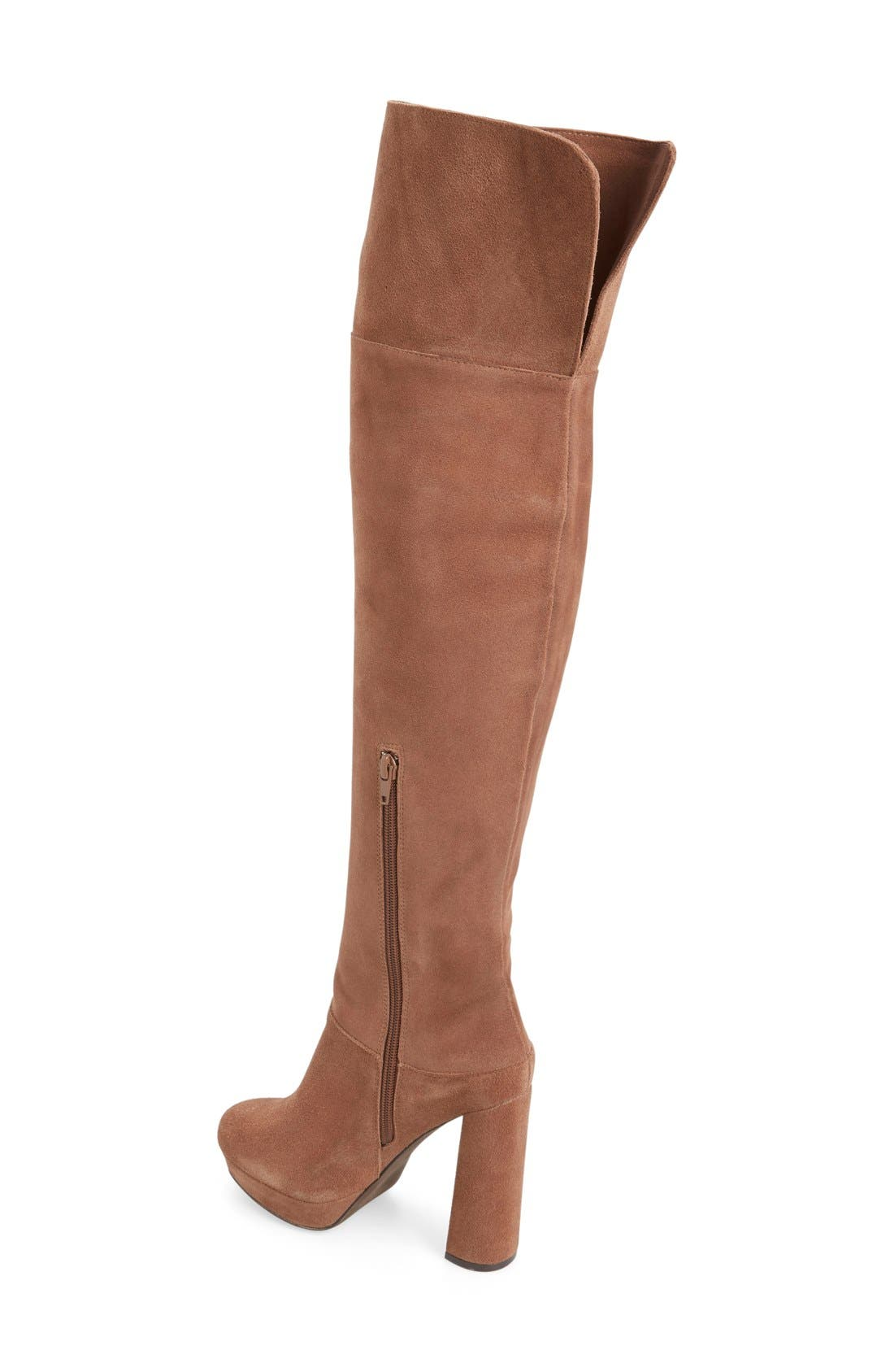 Alternate Image 2  - Jeffrey Campbell 'Destino' Over the Knee Platform Boot (Women)