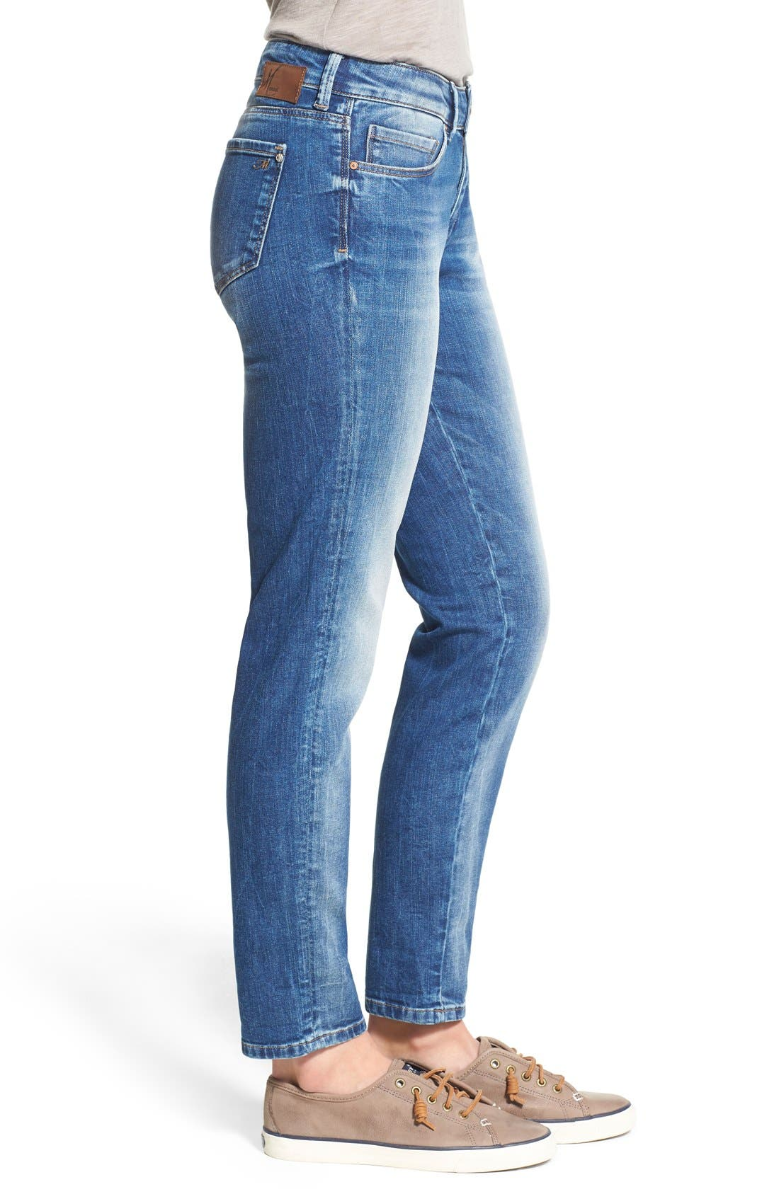 'Emma' Stretch Slim Boyfriend Jeans,                             Alternate thumbnail 4, color,                             Emma Shaded Vintage