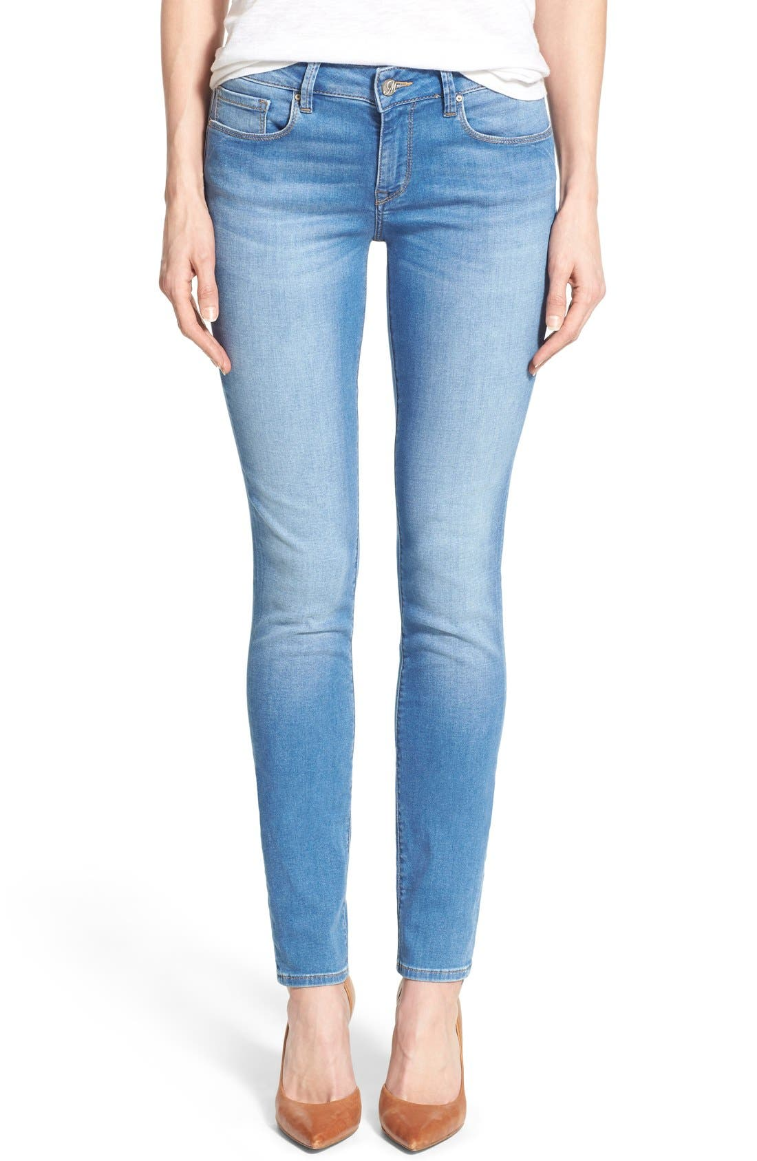 Mavi Jeans Alexa Stretch Skinny Jeans (Light Brushed Shanti) (Online Only)