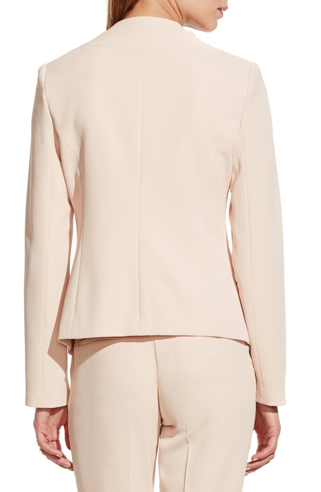 Alternate Image 3  - Vince Camuto Collarless Open Front Blazer