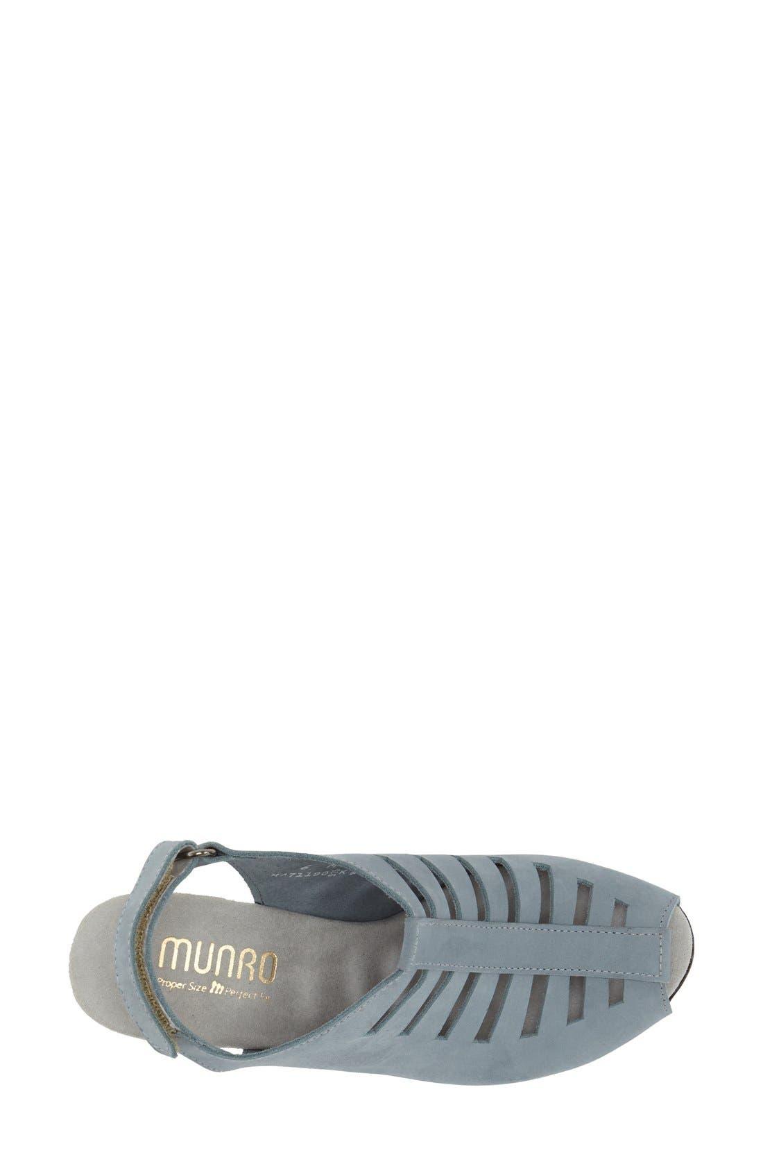 Alternate Image 3  - Munro 'Abby' Slingback Sandal (Women)