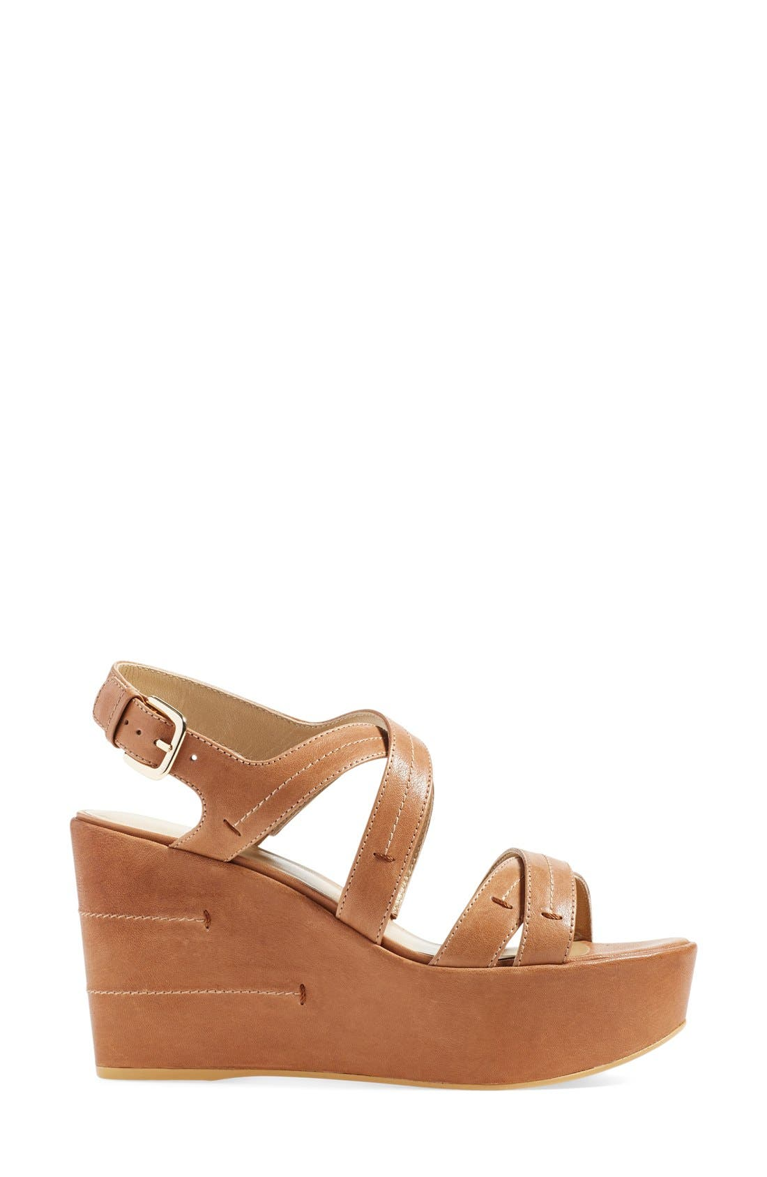 Alternate Image 4  - Stuart Weitzman 'Doublexing' Wedge Sandal (Women)