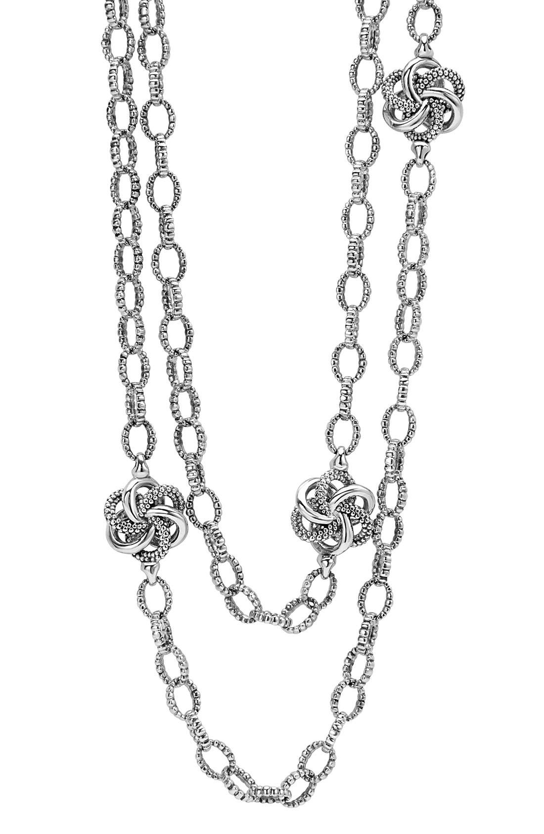 Alternate Image 2  - LAGOS 'Love Knot' Link Necklace