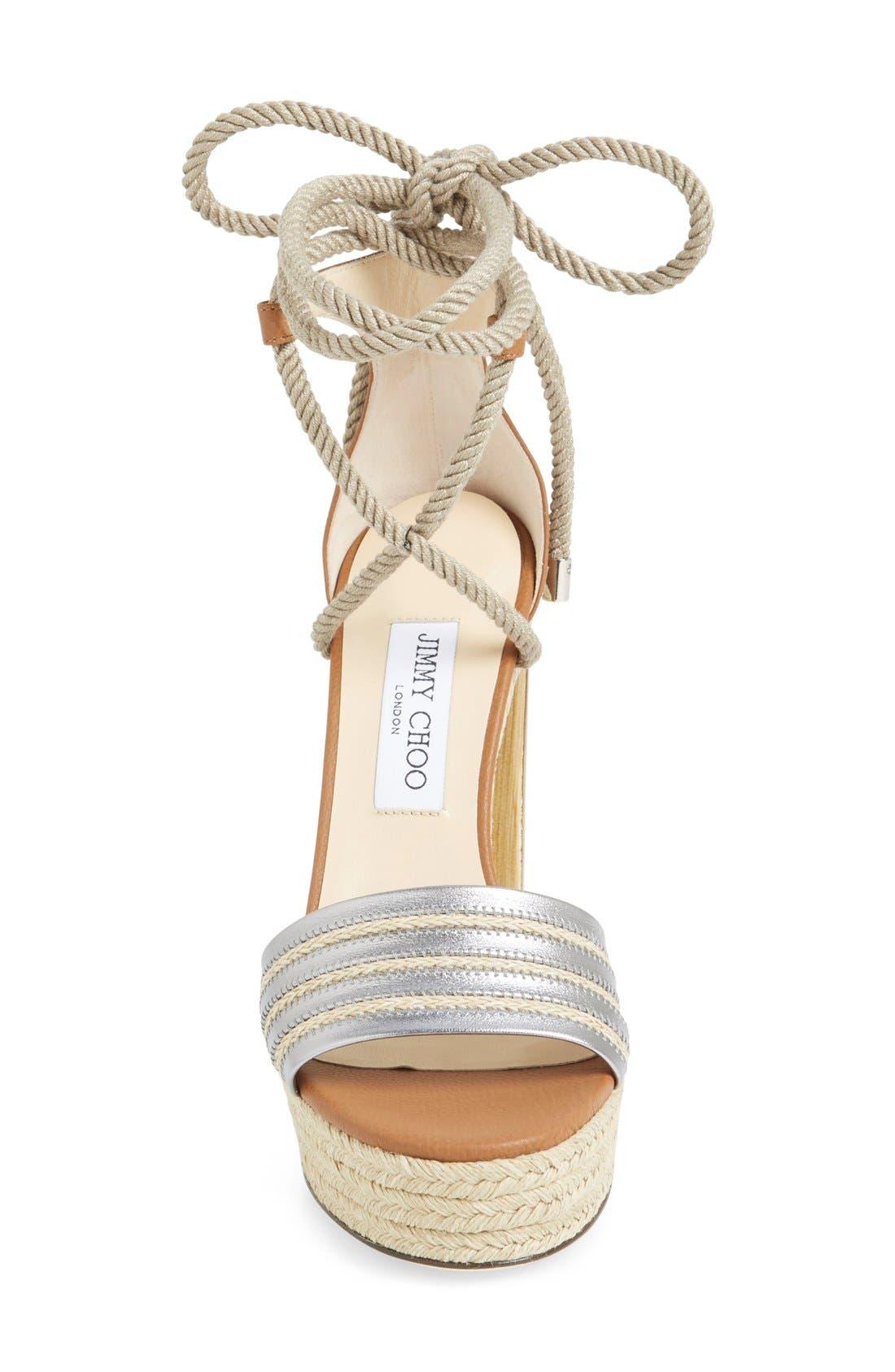 Alternate Image 3  - Jimmy Choo 'Mayje' Platform Sandal (Women)