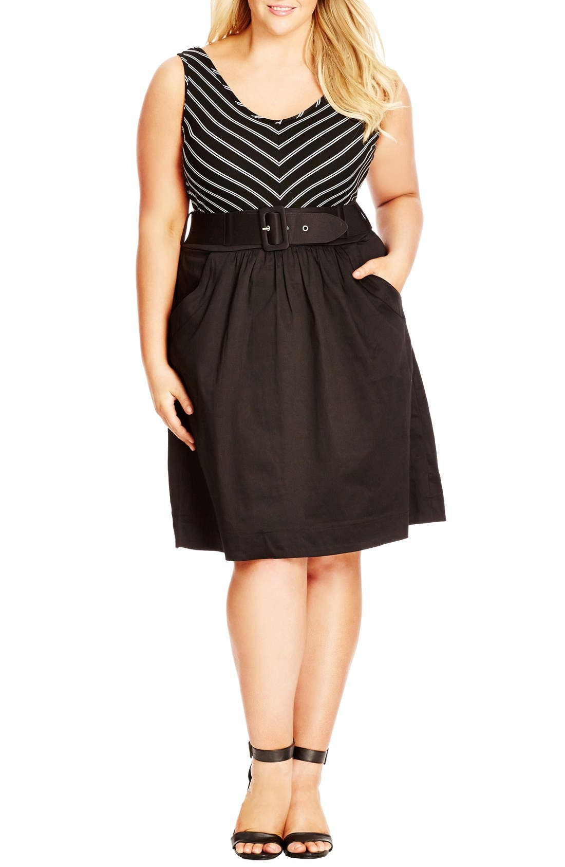 CITY CHIC Ahoy Dress
