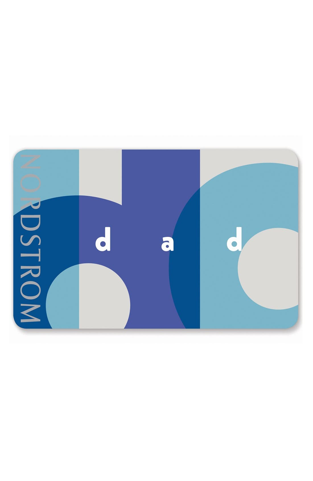 Nordstrom Father's Day Greeting Card & Gift Card