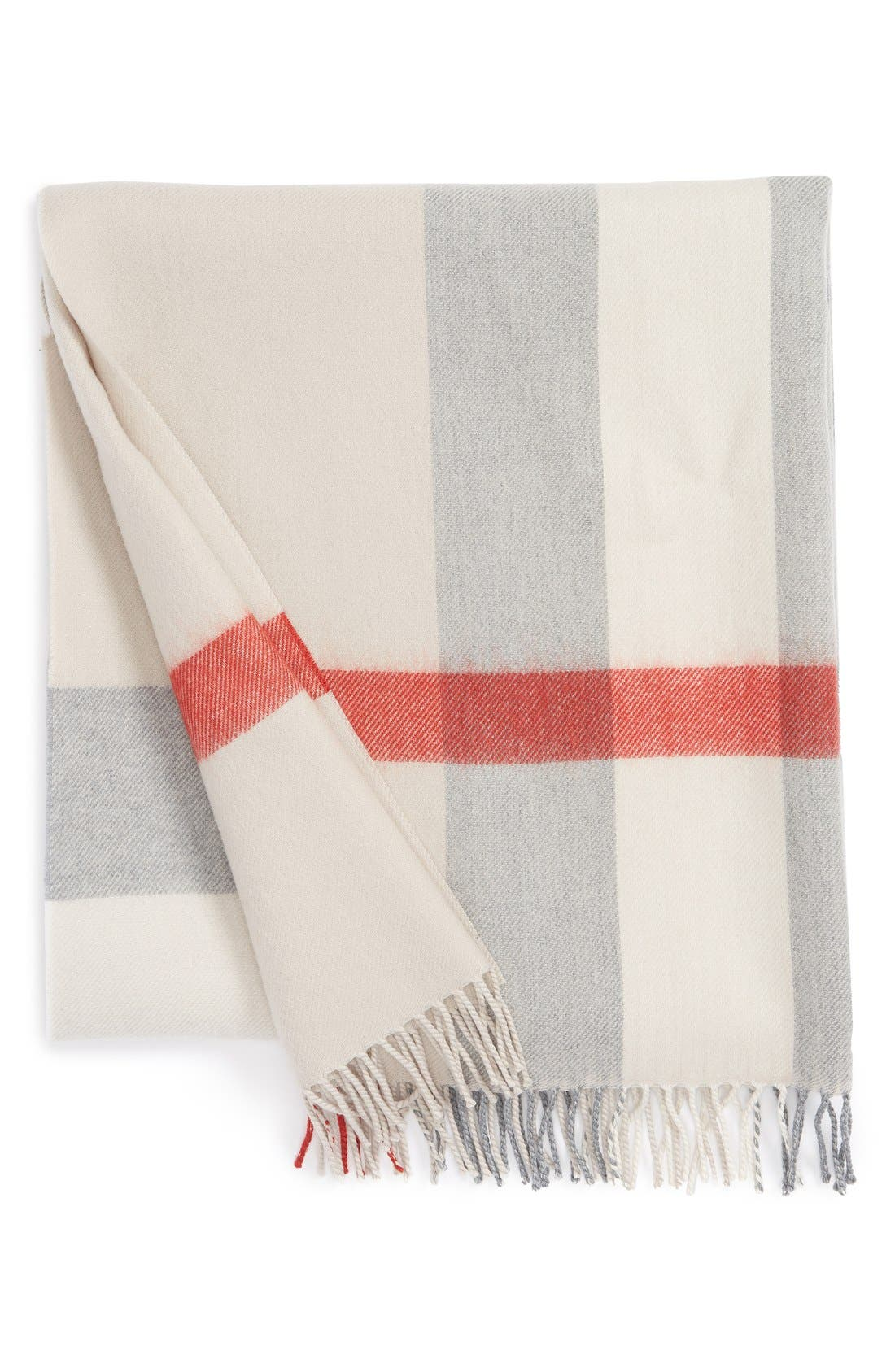 Burberry Merino Wool Baby Blanket