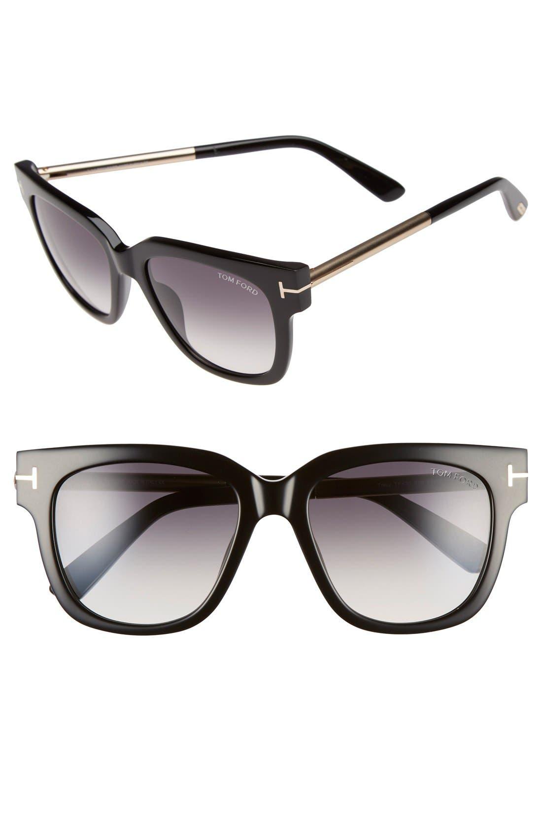 TOM FORD Tracy 53mm Retro Sunglasses