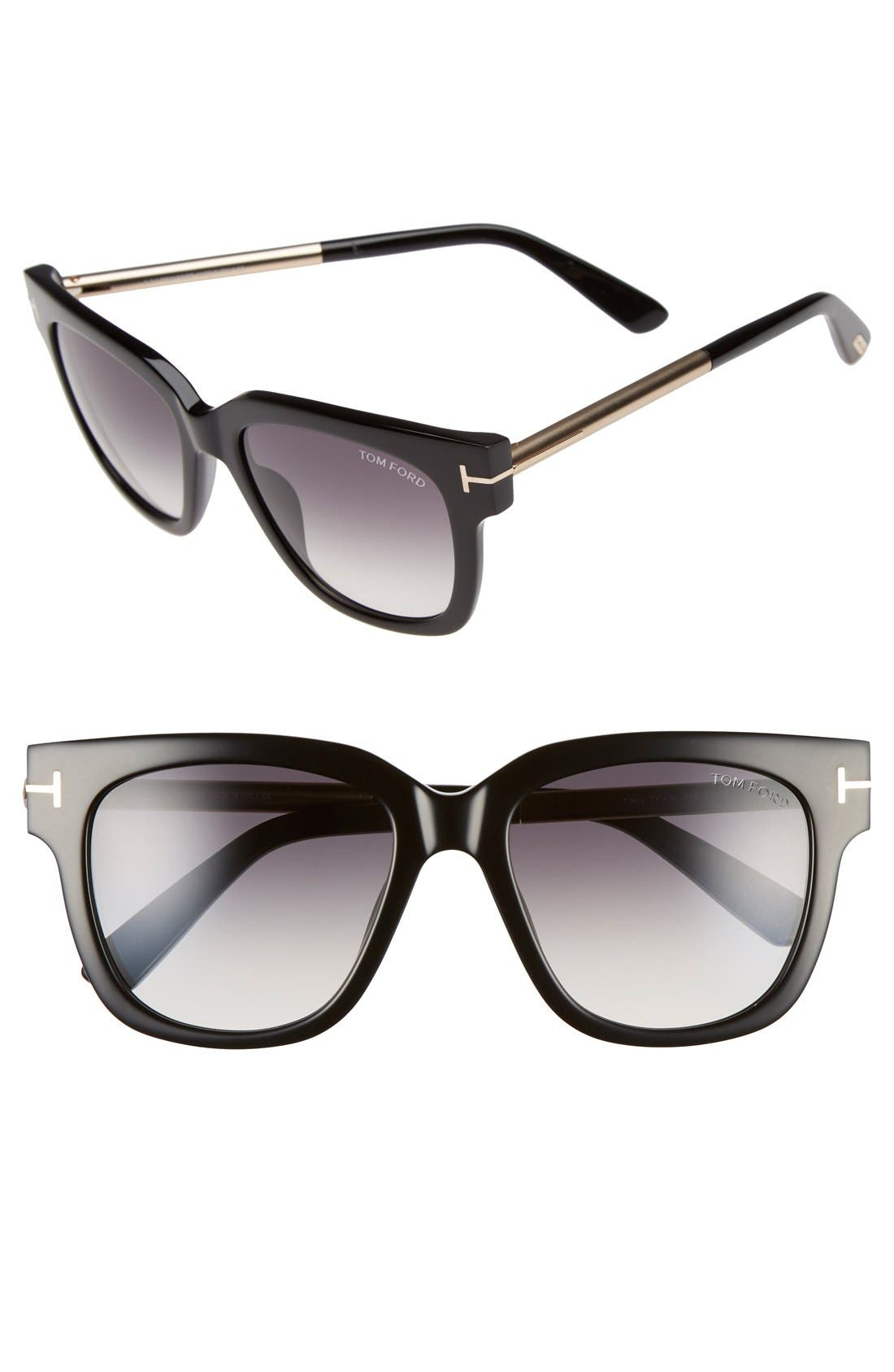 Alternate Image 1 Selected - Tom Ford 'Tracy' 53mm Retro Sunglasses