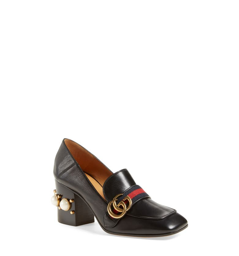 Square Toe Loafer Pump