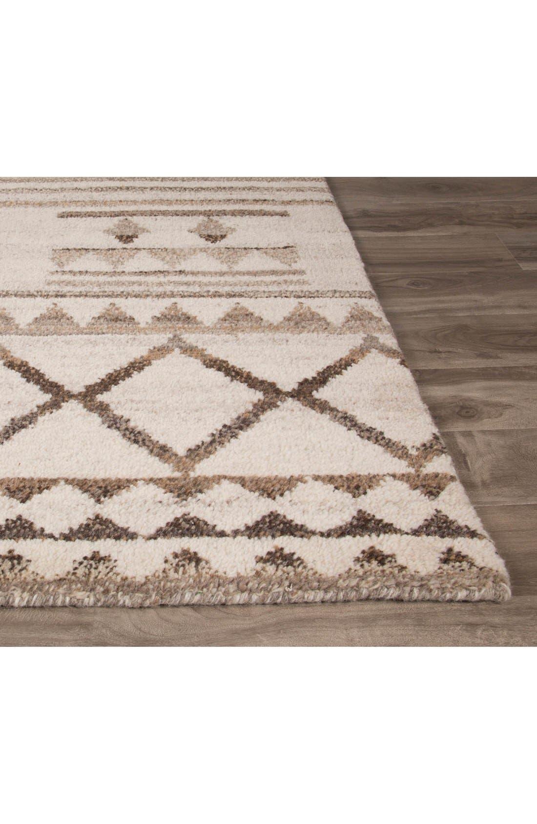 Alternate Image 2  - Jaipur 'Vanden Bohemian' Wool Rug