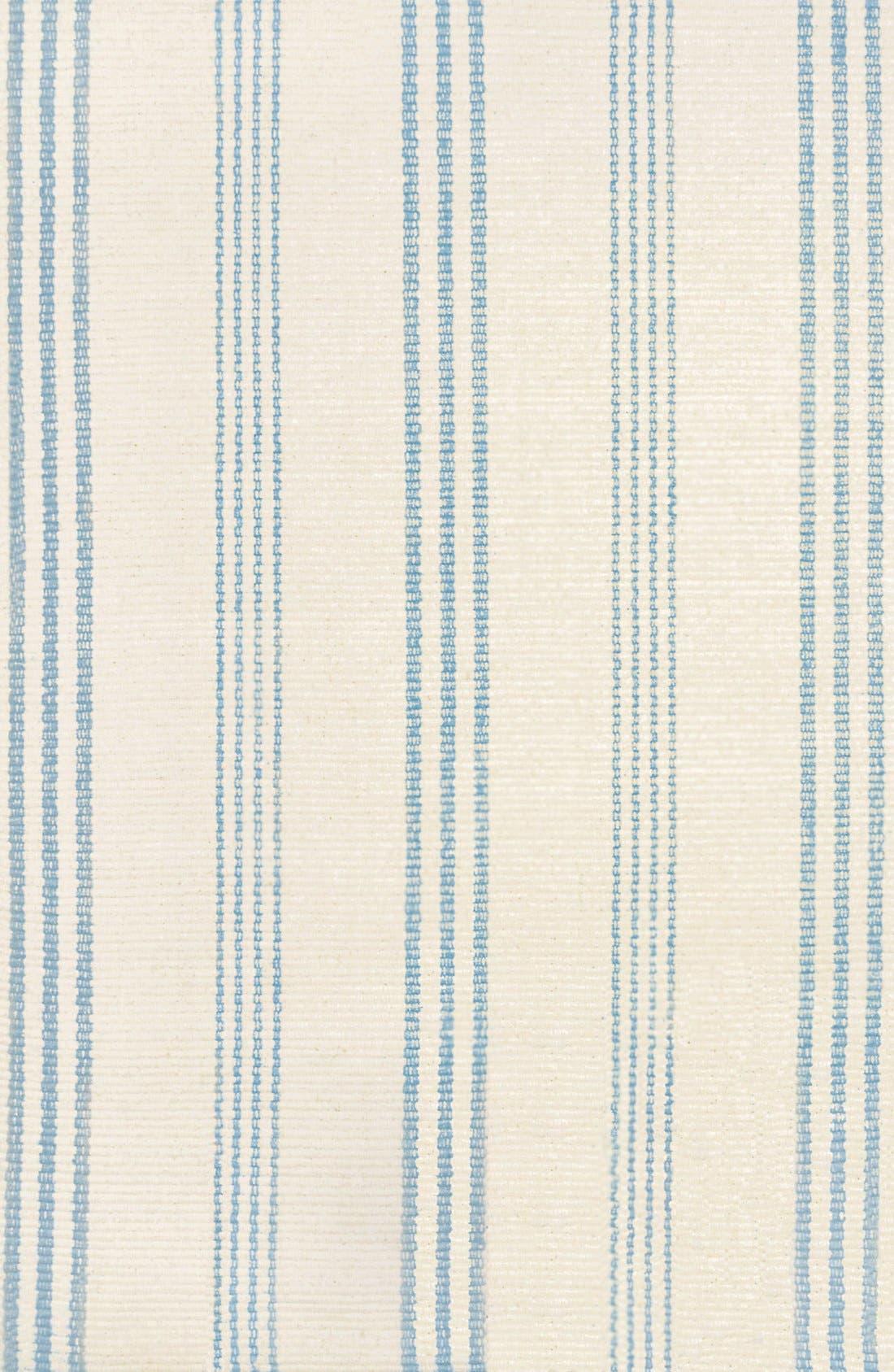 'Swedish' Stripe Rug,                         Main,                         color, Ivory/ Blue