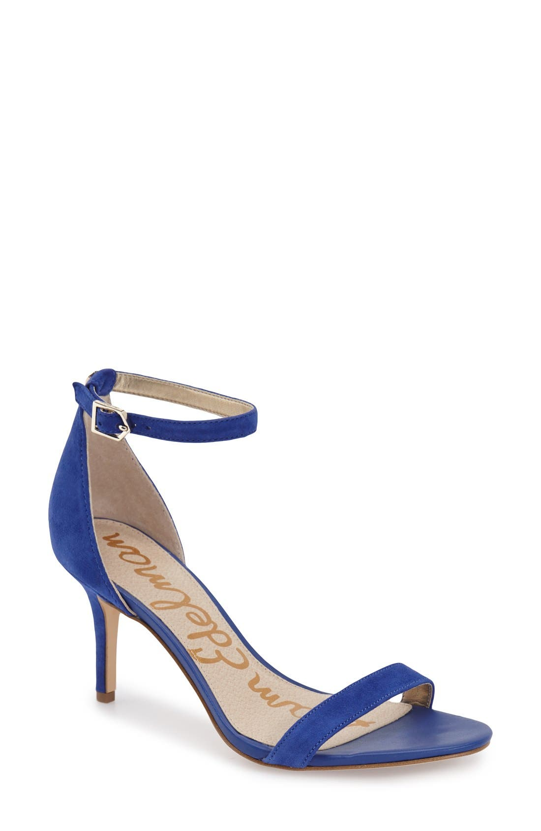 Alternate Image 1 Selected - Sam Edelman 'Patti' Ankle Strap Sandal (Women)