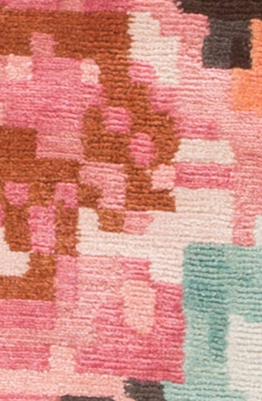 Alternate Image 3  - kate spade new york 'murray - floral pattern' wool blend rug