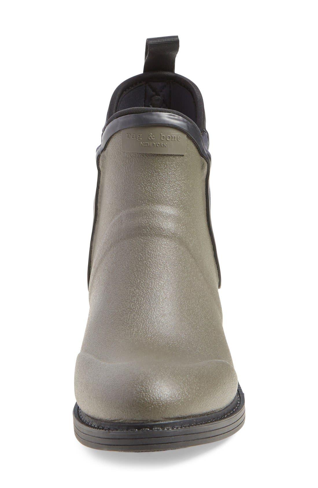 Alternate Image 3  - rag & bone 'Dartford' Rubber Boot (Women)