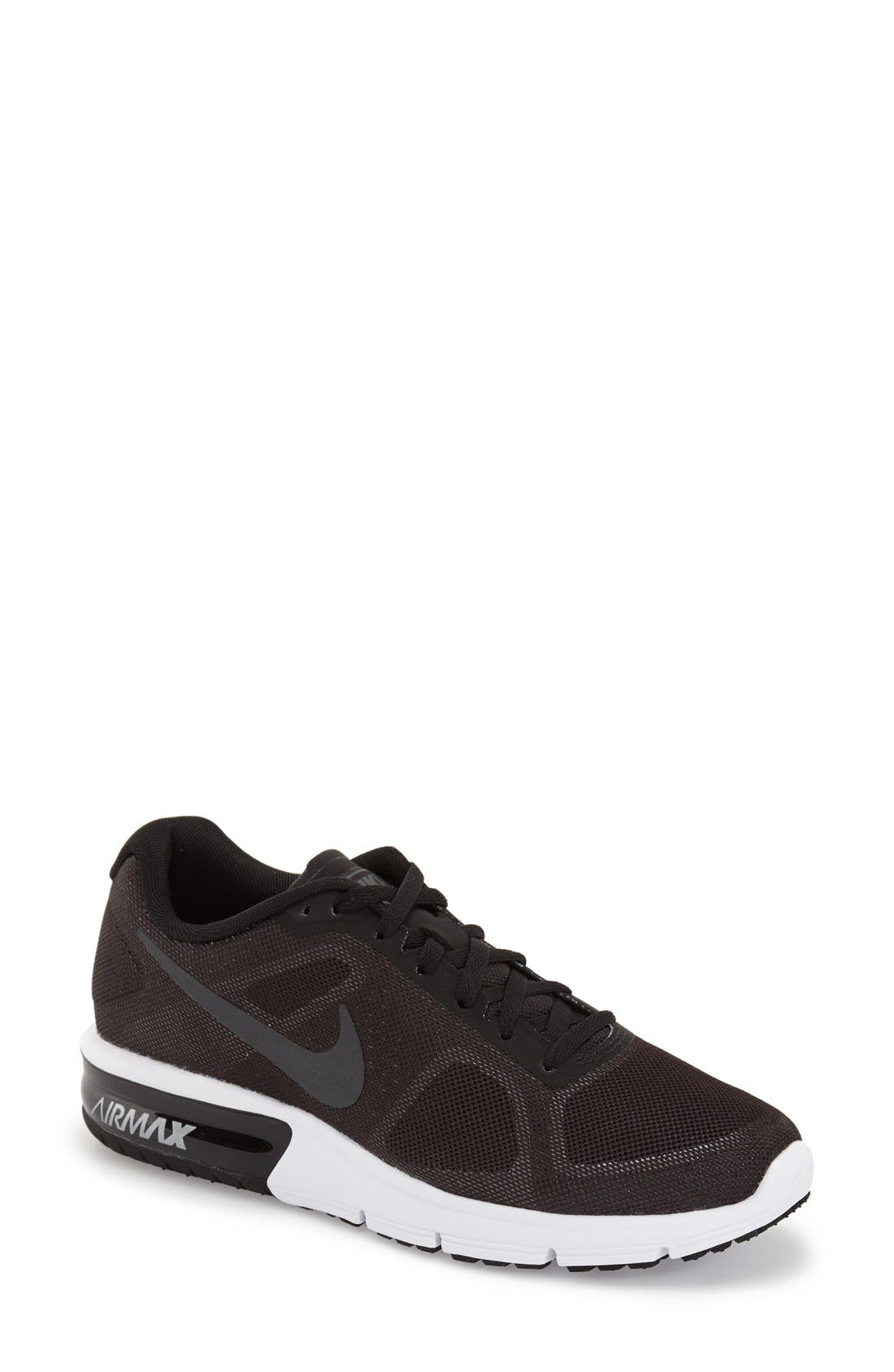 Alternate Image 1 Selected - Nike 'Air Max Sequent' Running Shoe (Women)