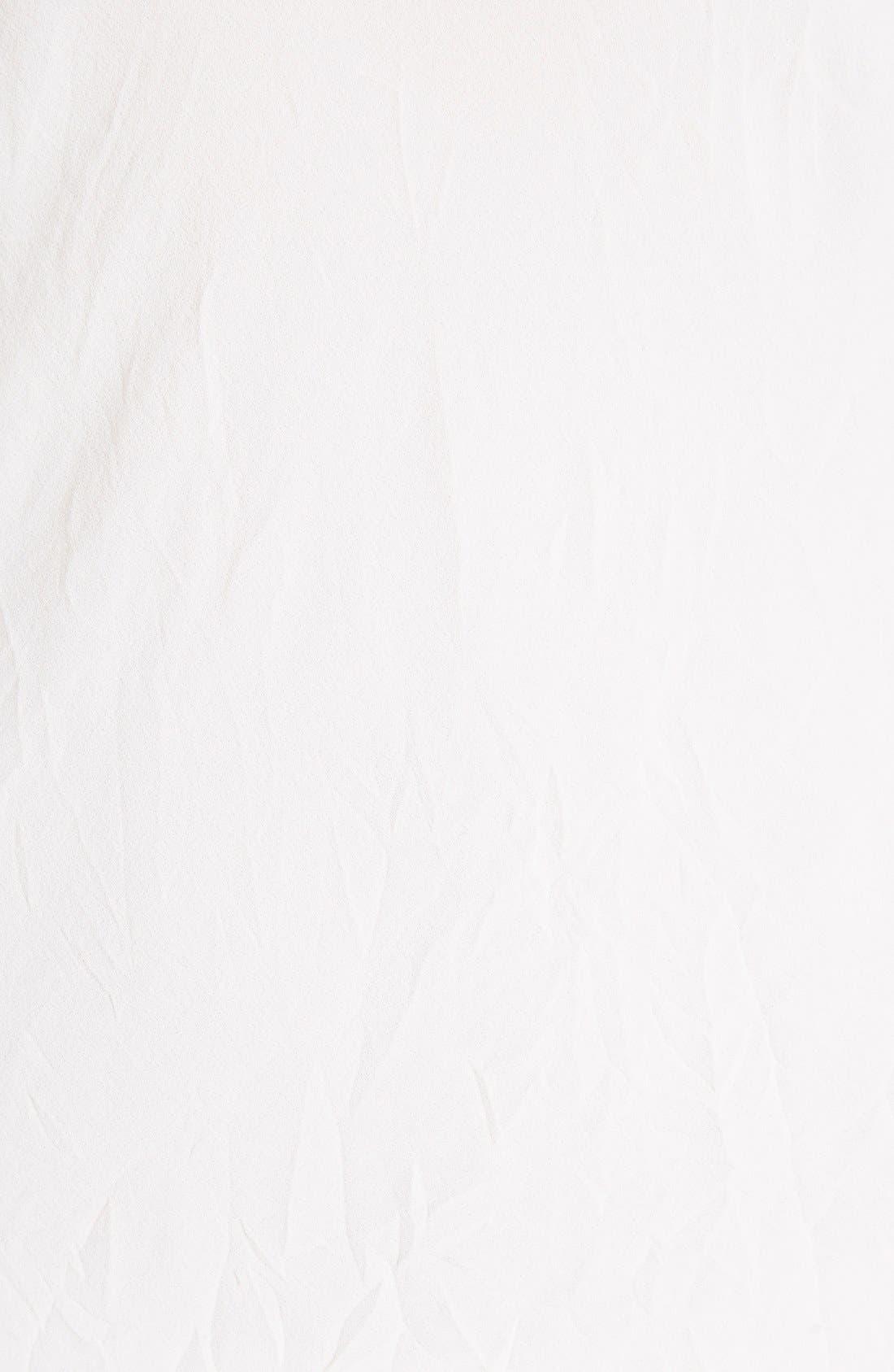 Alternate Image 3  - Givenchy Lace Trim Silk Crepe Dress