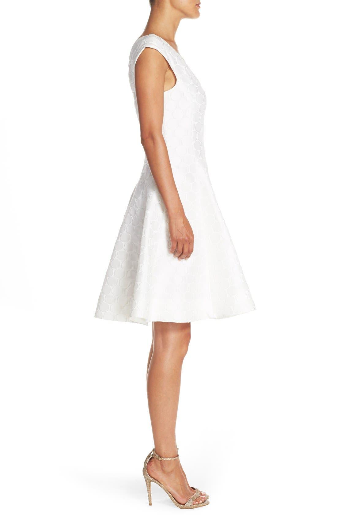 Alternate Image 3  - Julia Jordan Jacquard Fit & Flare Dress