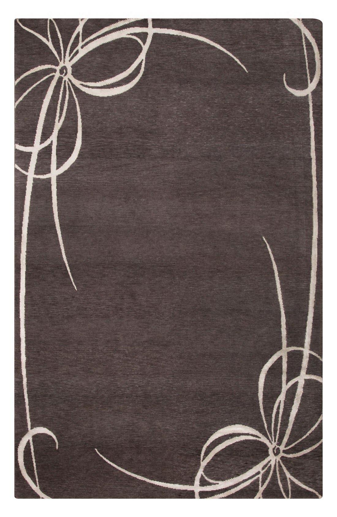 'noho' rug,                             Main thumbnail 1, color,                             Grey/ Ivory