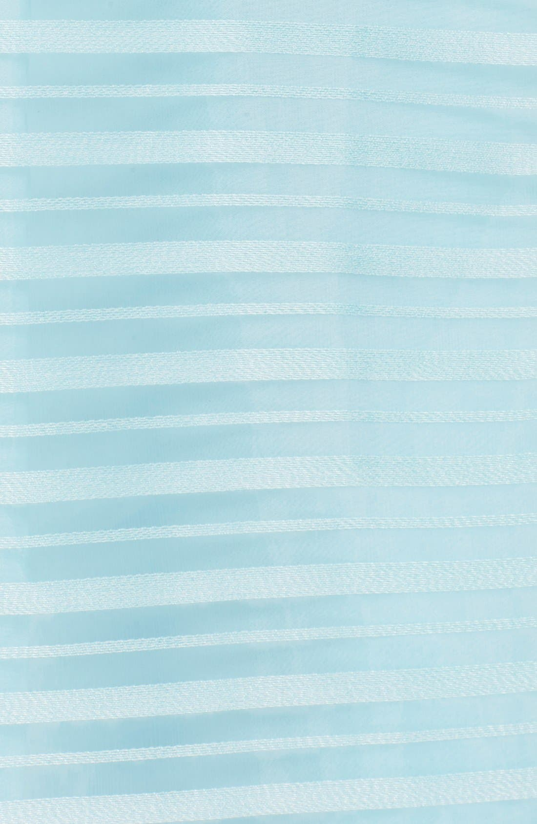 Alternate Image 6  - Halson Heritage Shadow Stripe Organza Dress