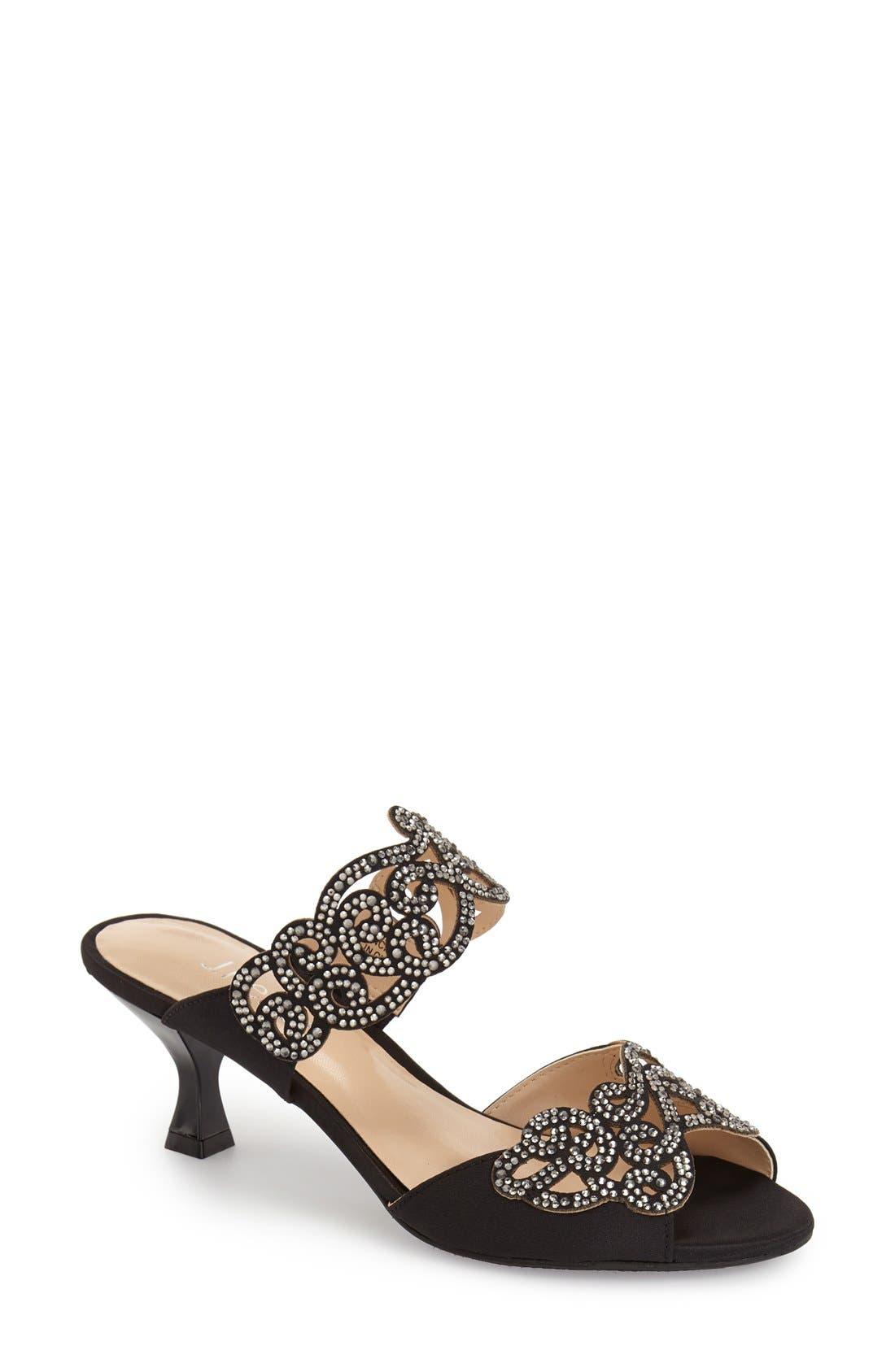 Alternate Image 1 Selected - J. Reneé 'Francie' Evening Sandal (Women)