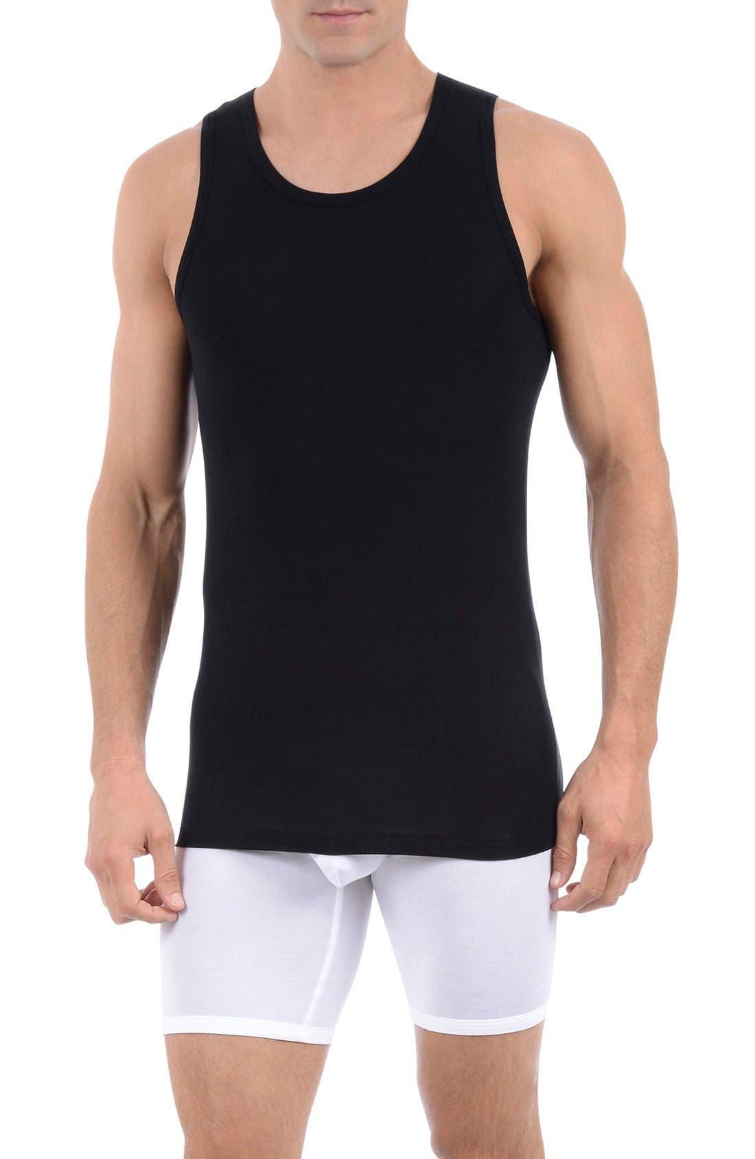 Alternate Image 1 Selected - Tommy John 'Second Skin' Tank Undershirt