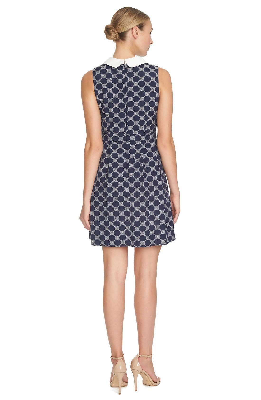 Alternate Image 2  - CeCe by Cynthia Steffe 'Becca' Jacquard Shift Dress