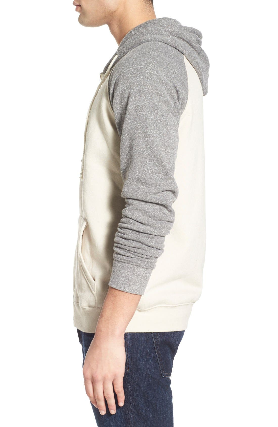 Alternate Image 4  - Threads for Thought Raglan Hoodie