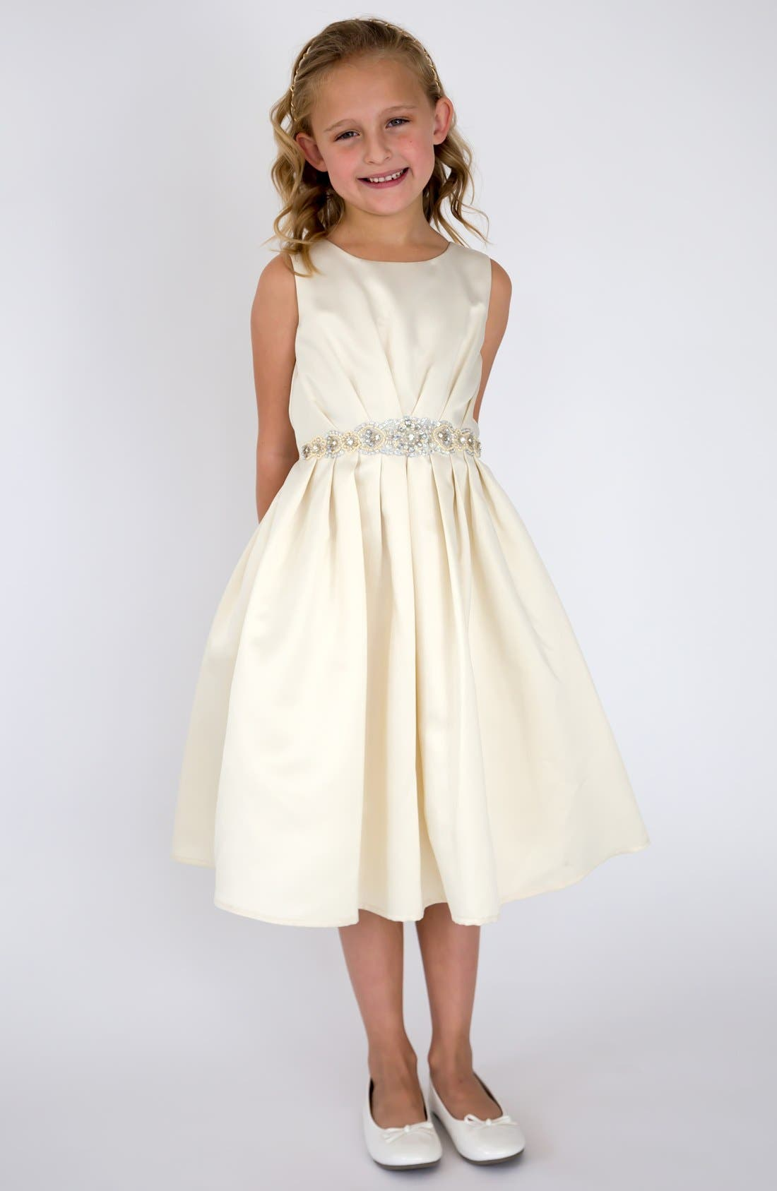 Us Angels Satin Dress (Little Girls & Big Girls)