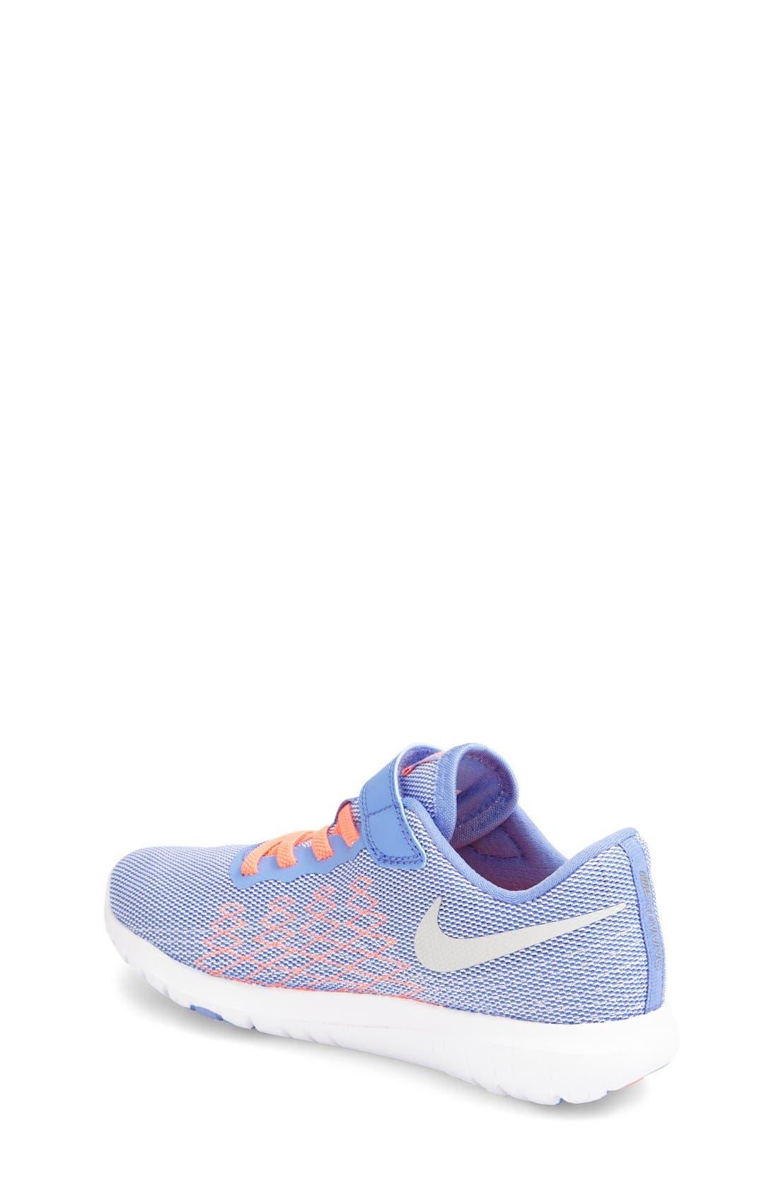 'Flex Fury 2' Athletic Shoe,                             Alternate thumbnail 2, color,                             Chalk Blue/ White