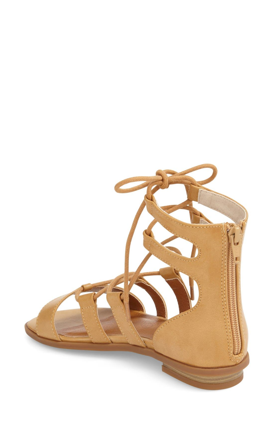Alternate Image 2  - BC Footwear 'Pocket Size' Lace-Up Flat Sandal (Women)